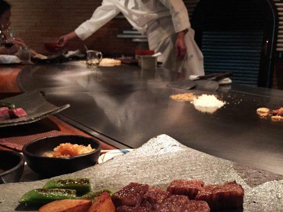 Restaurant Shinjuku Kobe Tokyo biff og kokk