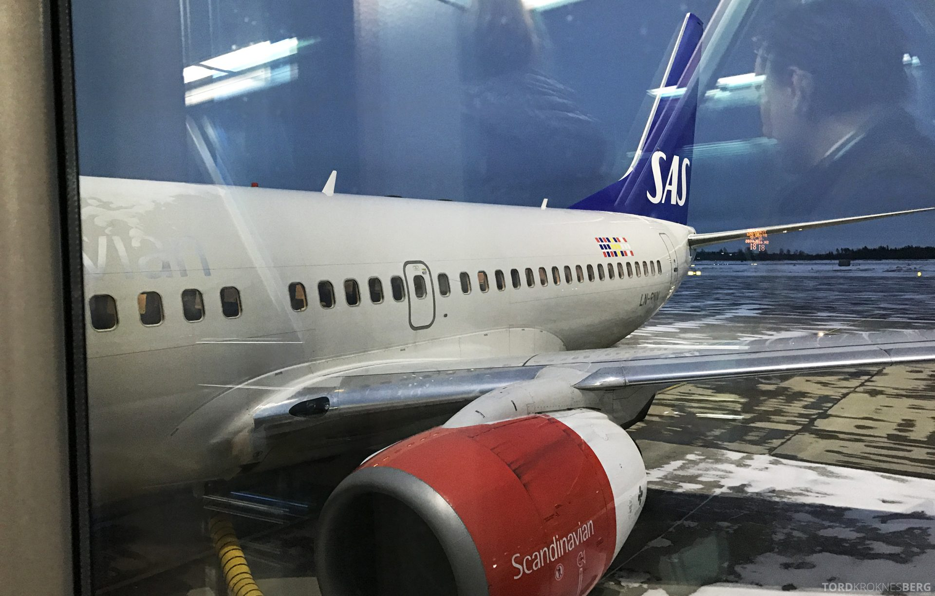 SAS Plus Barcelona fly