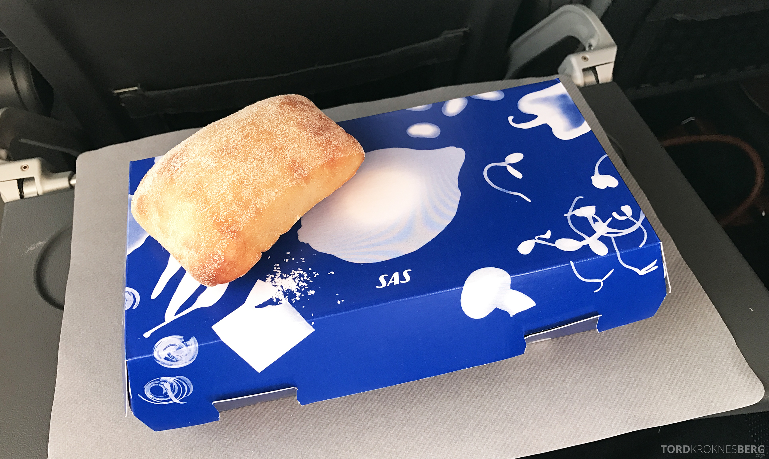 SAS Plus Barcelona frokostboks