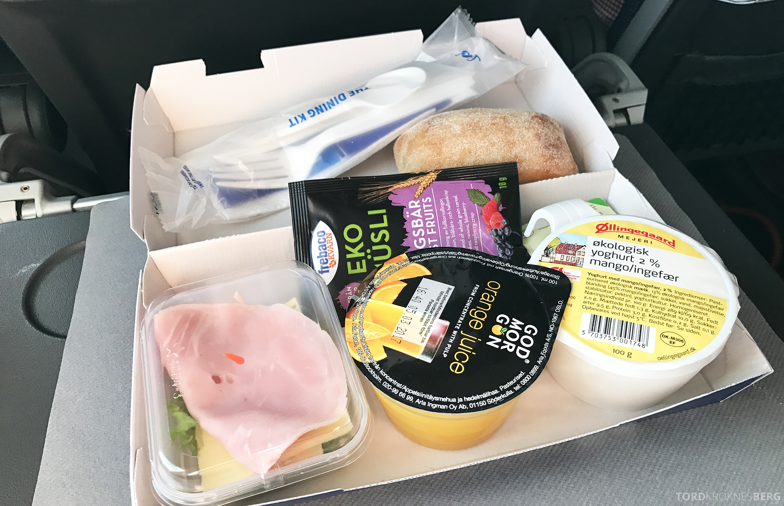 SAS Plus Barcelona frokost