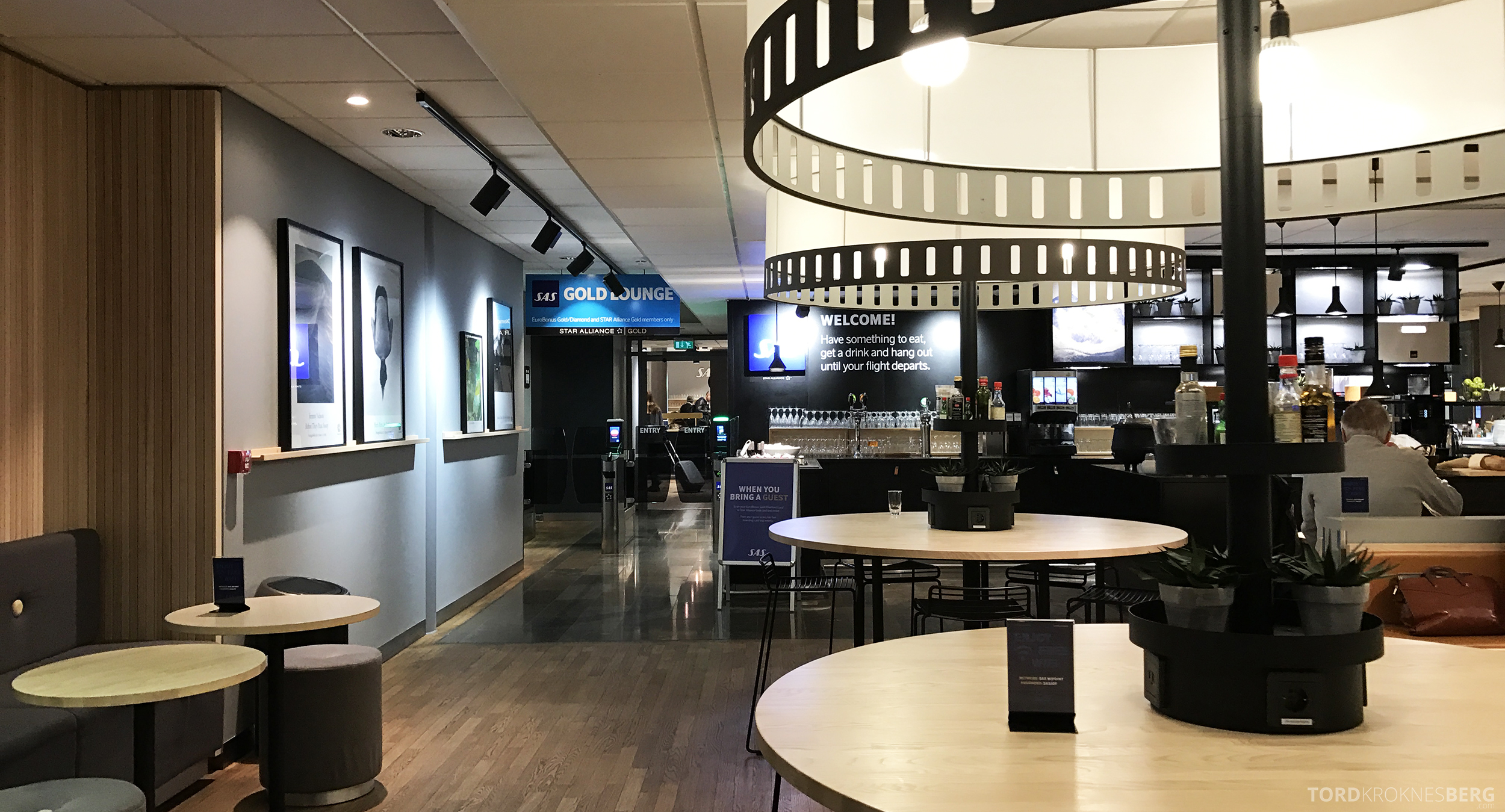 SAS Plus Barcelona business lounge