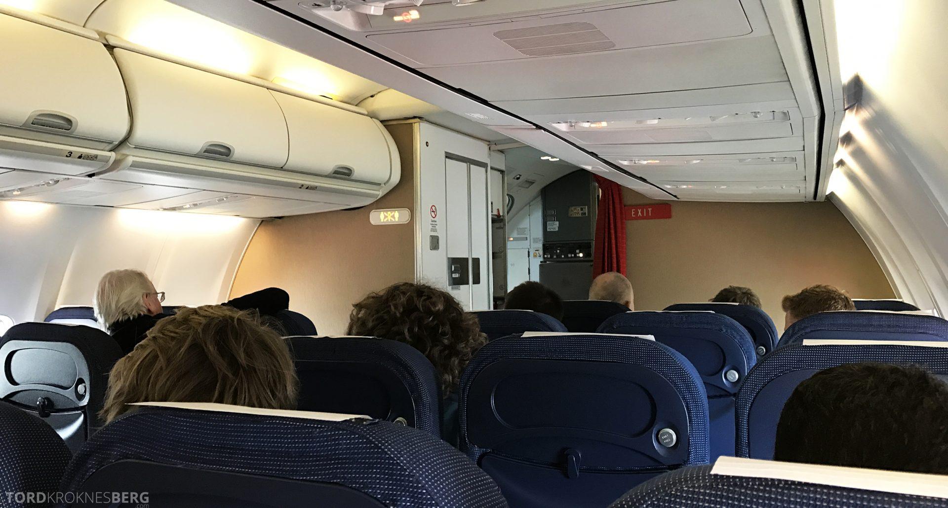 SAS Plus Barcelona kabin
