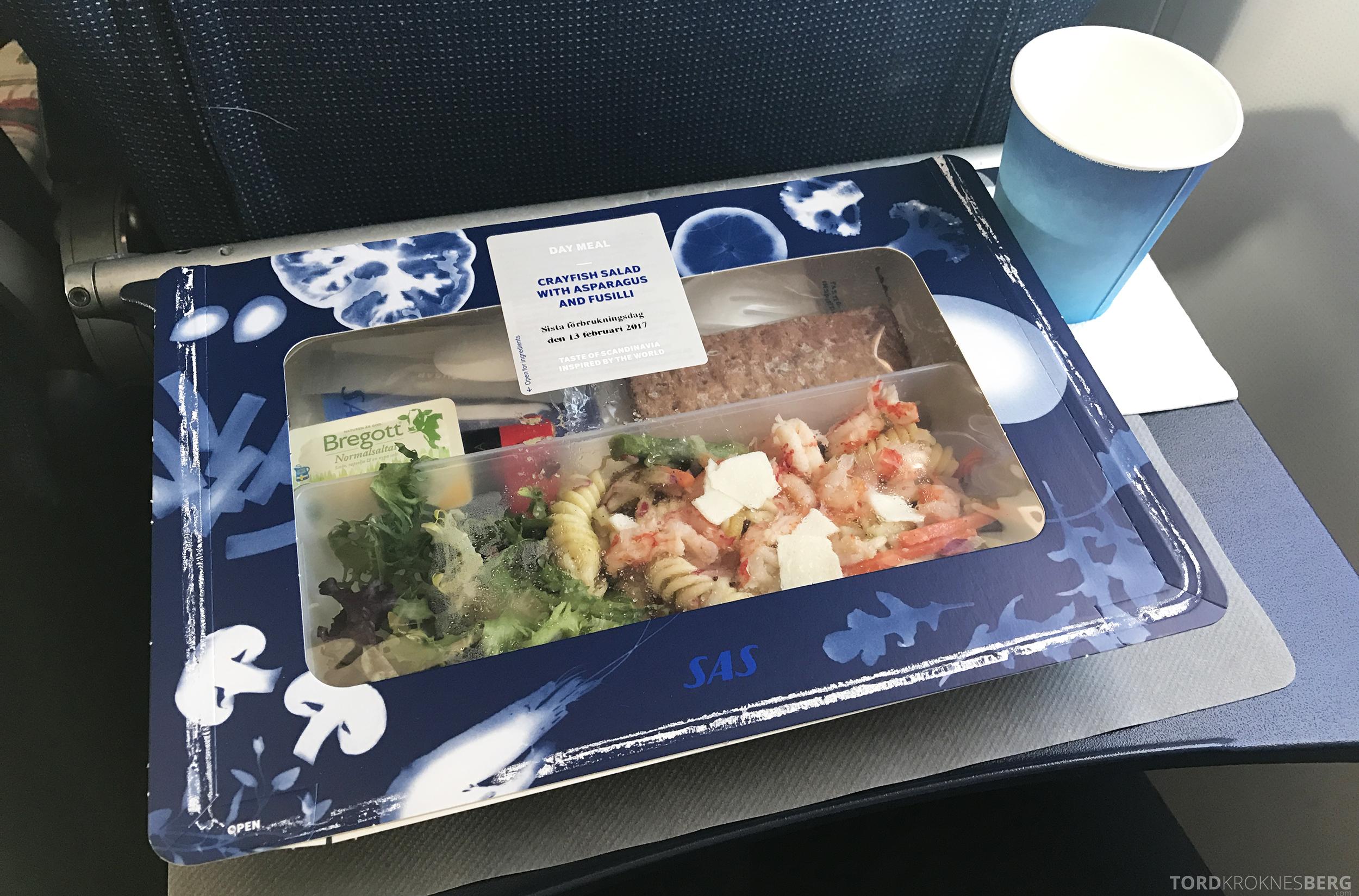SAS Plus Barcelona mat skalldyr