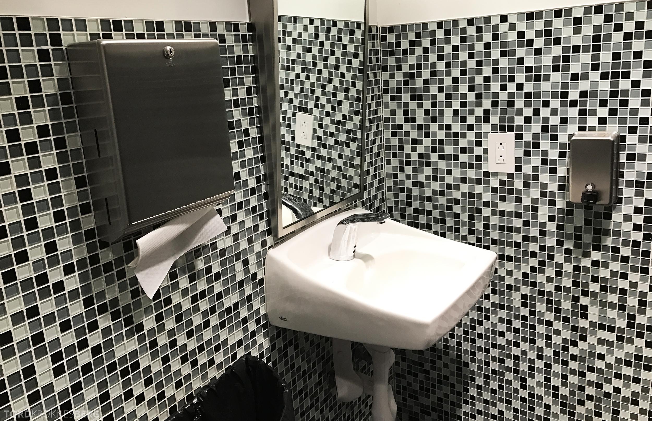 Avianca VIP Lounge Miami toalett