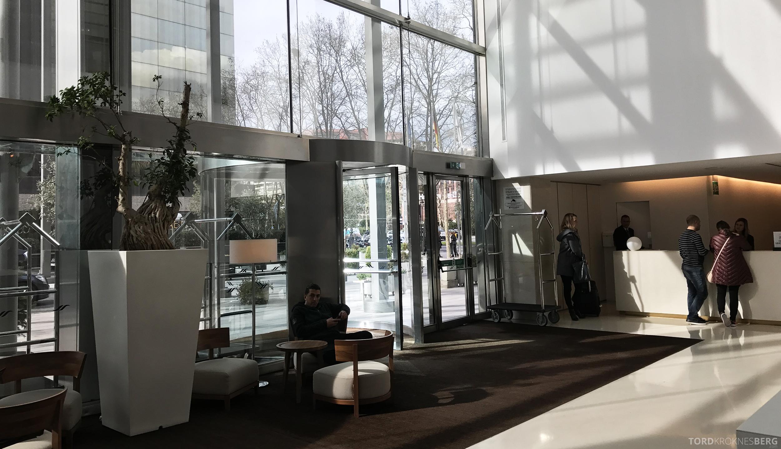 Hilton Barcelona lobby