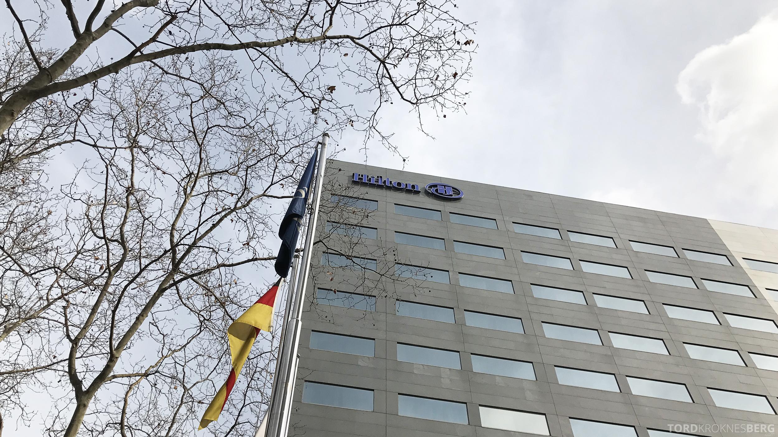 Hilton Barcelona fasade