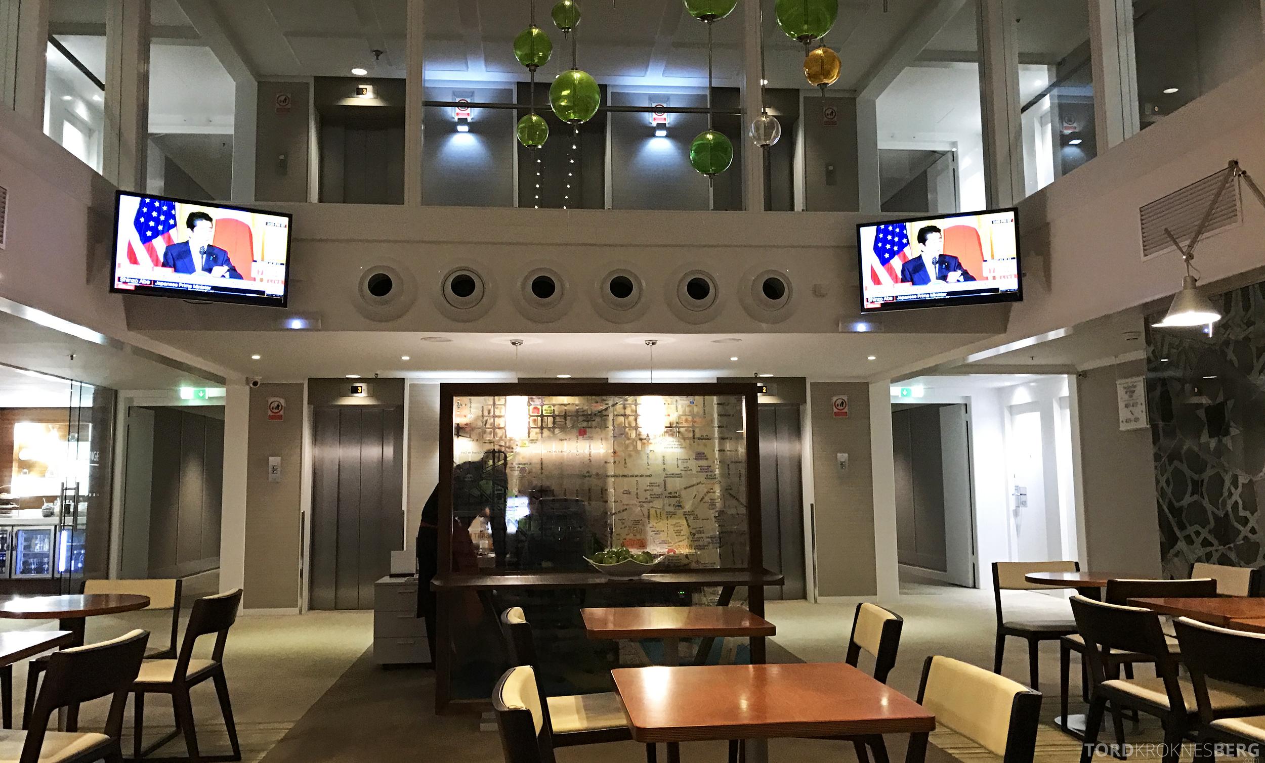 Hilton Barcelona Executive Lounge omgivelser