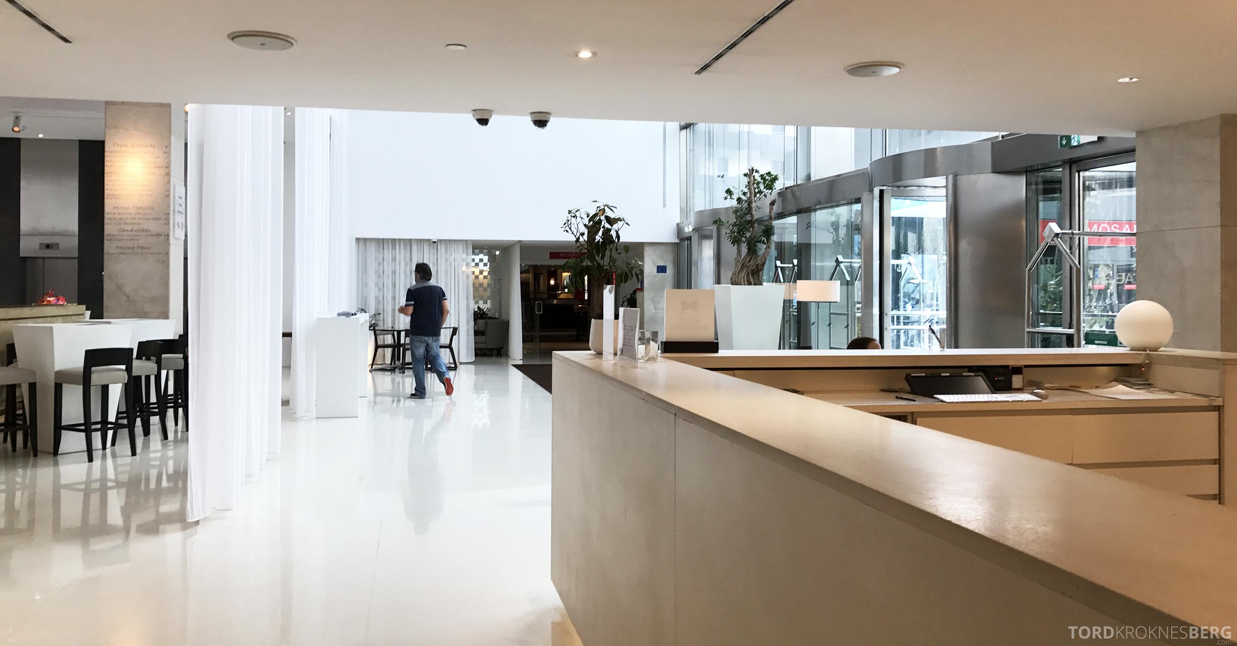 Hilton Barcelona resepsjon