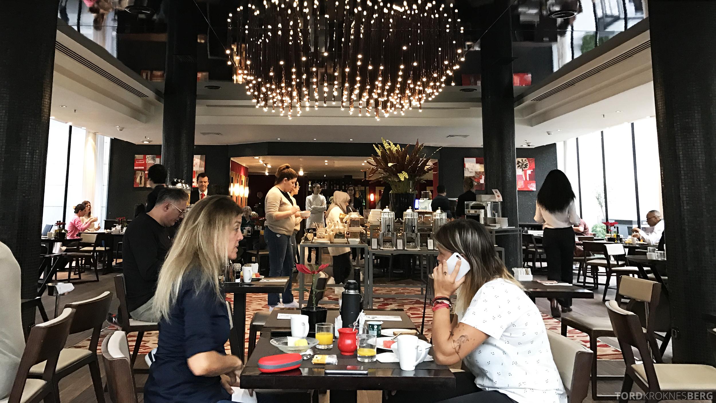 Hilton Barcelona frokost omgivelser