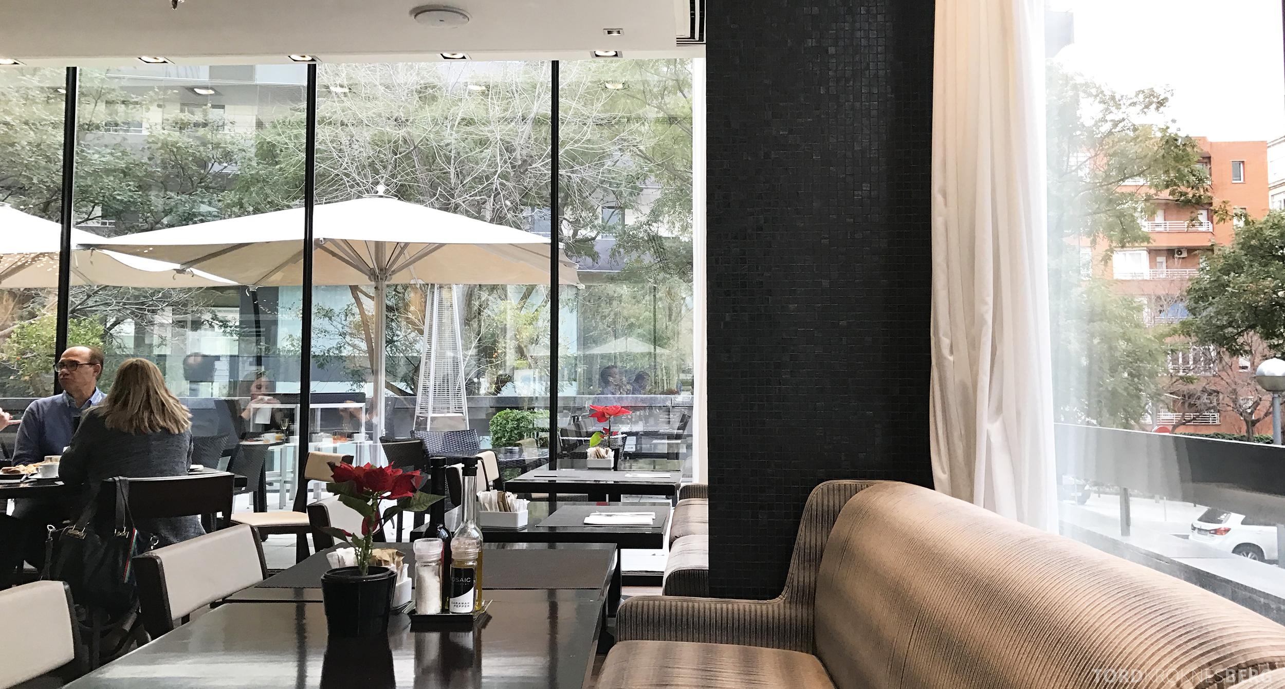 Hilton Barcelona frokostsal omgvielser