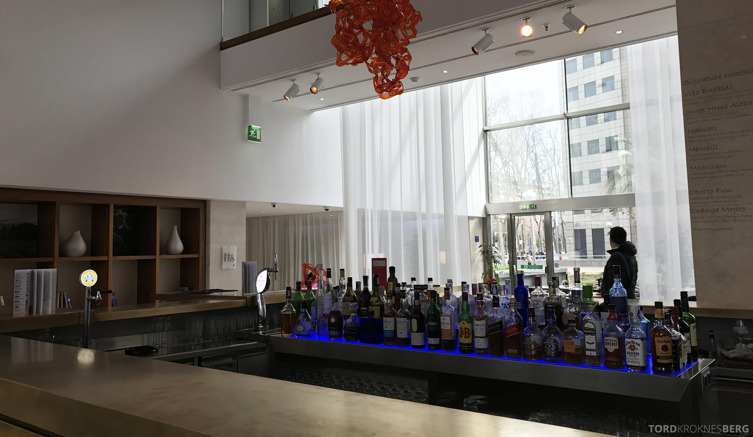 Hilton Barcelona bar