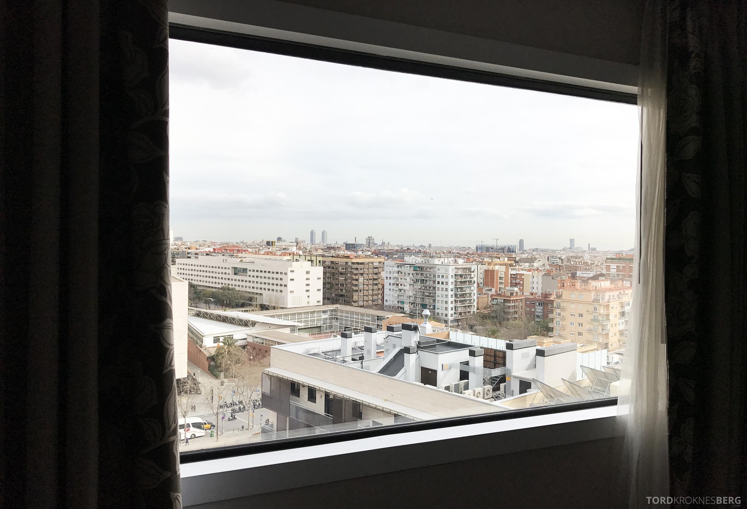 Hilton Barcelona utsikt