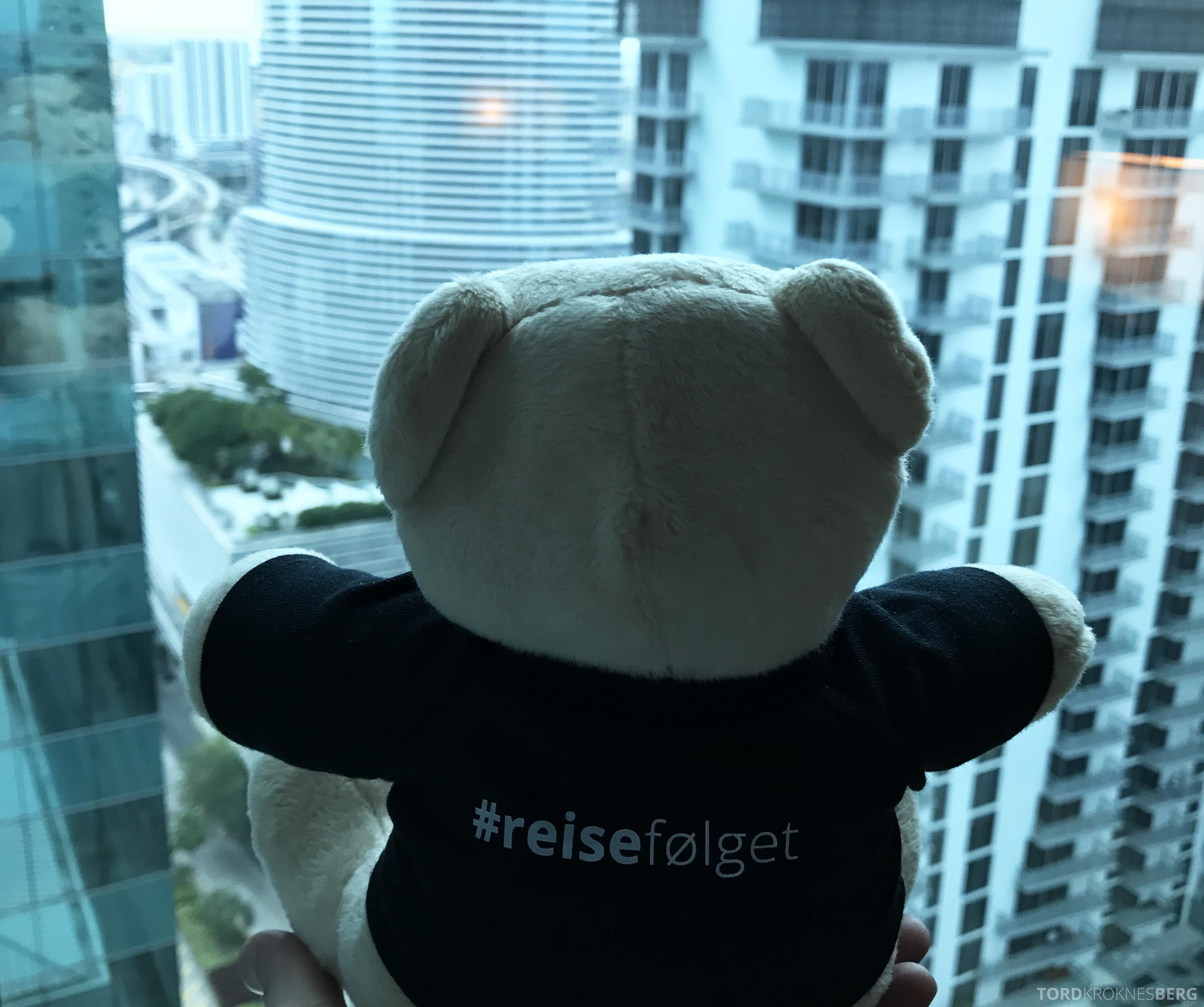 JW Marriott Marquis Miami reisefølget utsikt