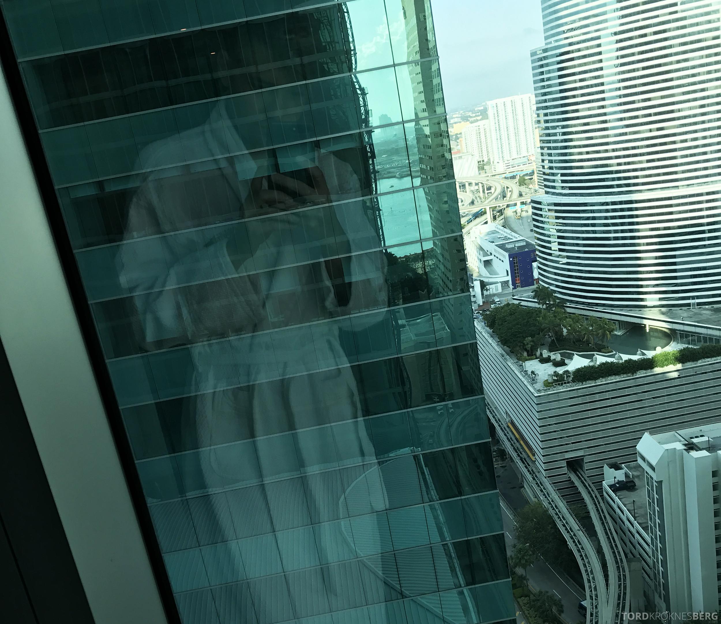 JW Marriott Marquis Miami utsikt