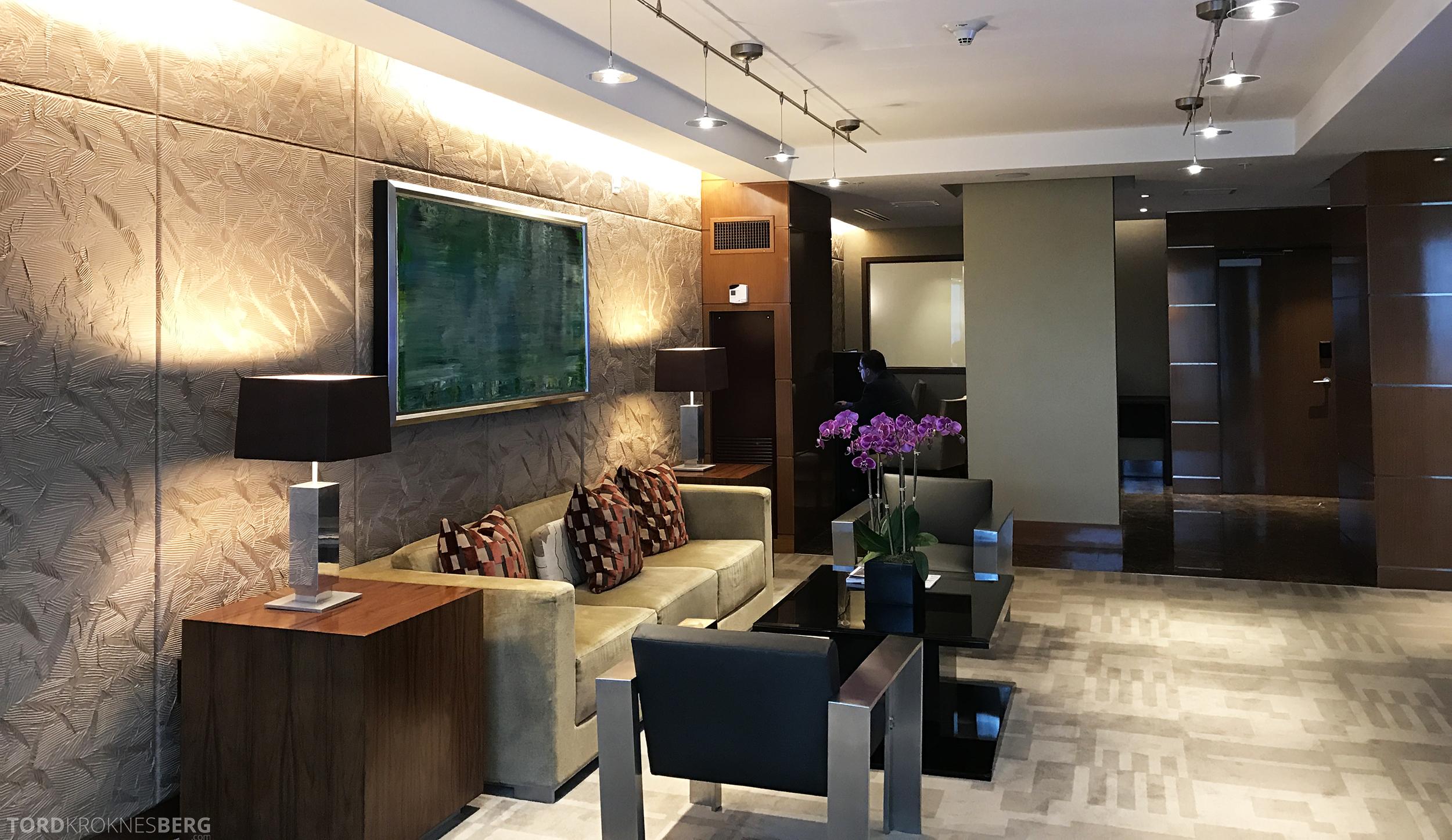 JW Marriott Marquis Miami Executive Lounge sittegrupper