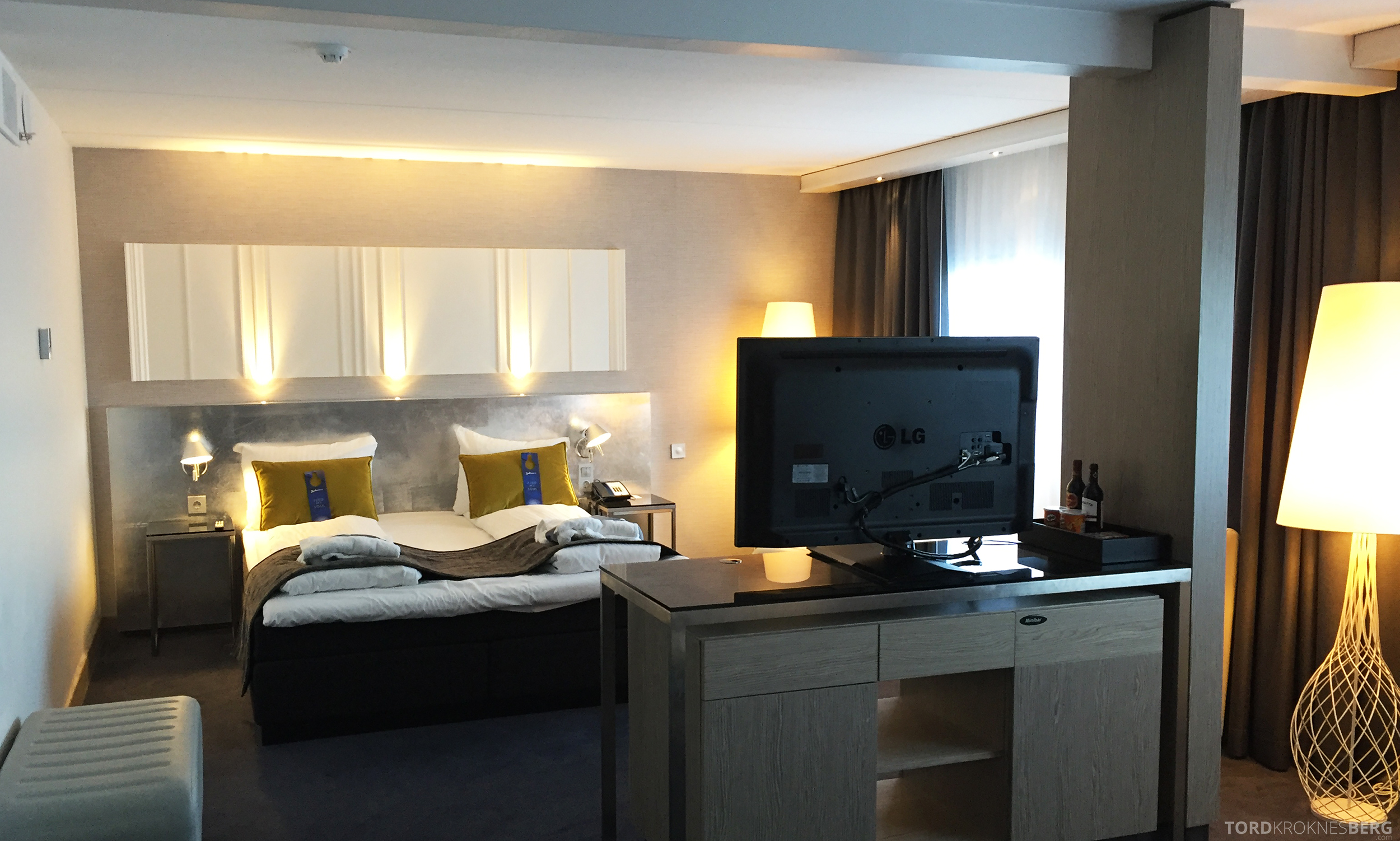 Radisson Blu Oslo Airport Hotel Junior Suite seng