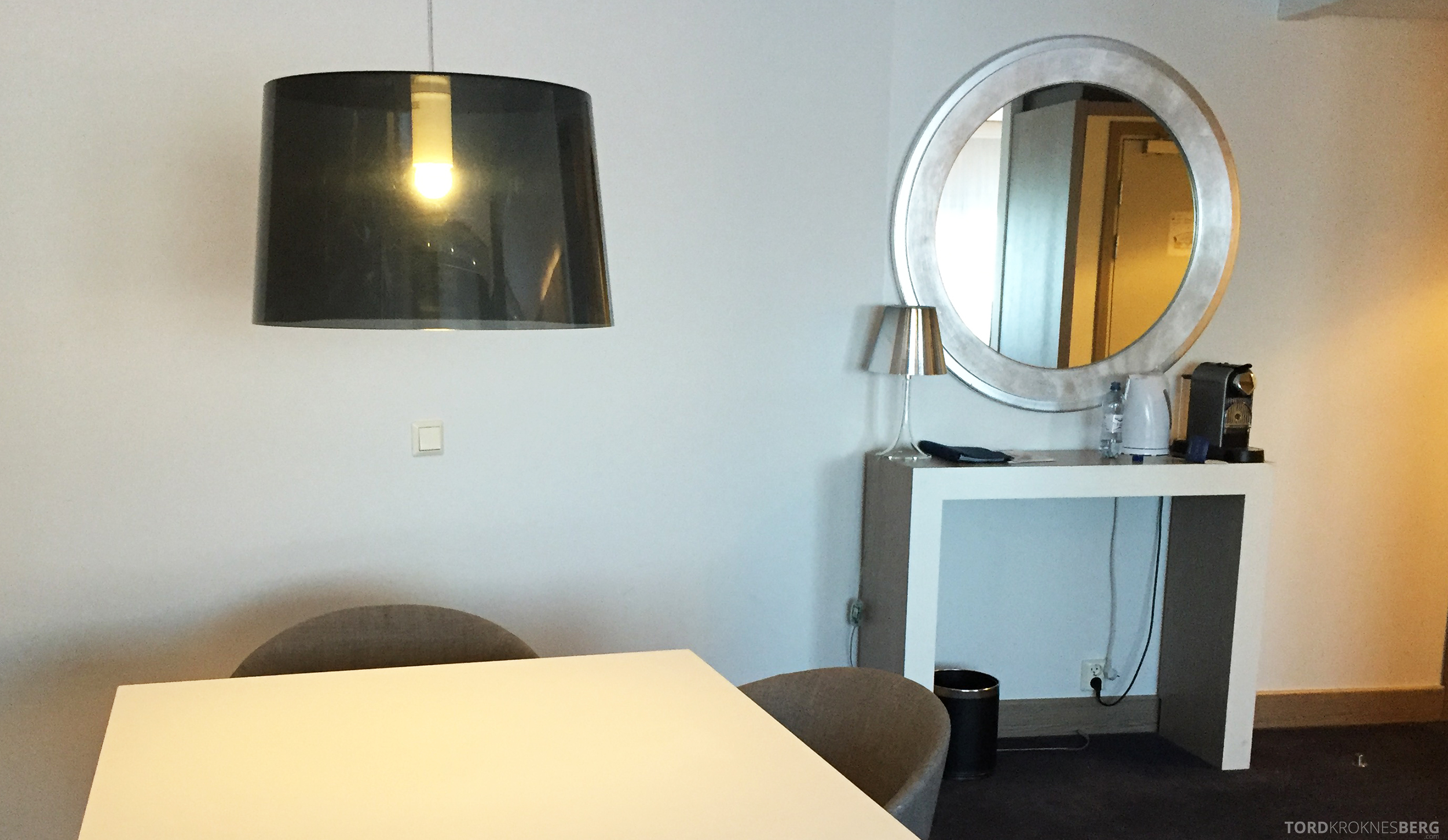 Radisson Blu Oslo Airport Hotel Junior Suite speil