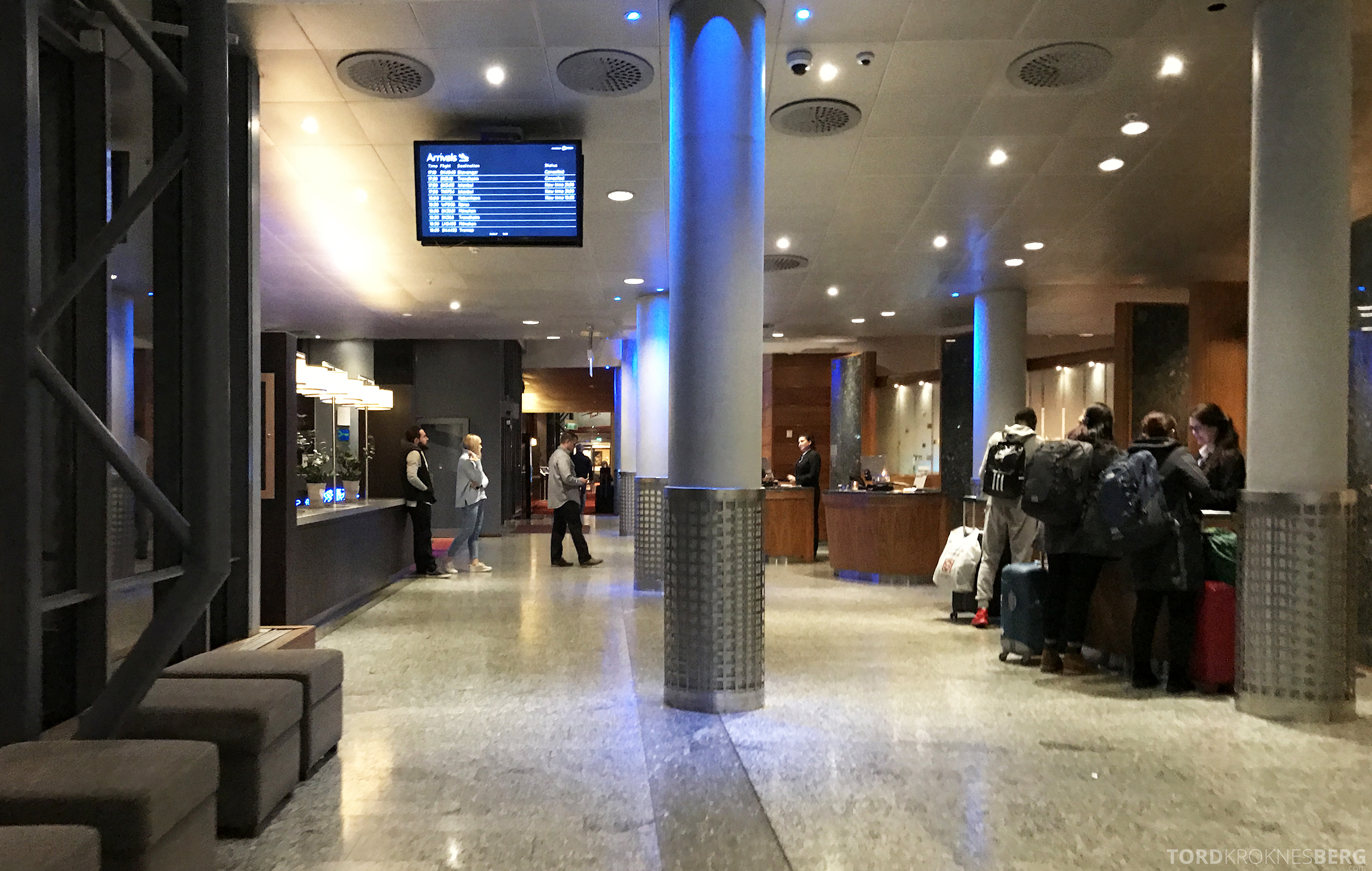 Radisson Blu Oslo Airport Hotel Suite innsjekk