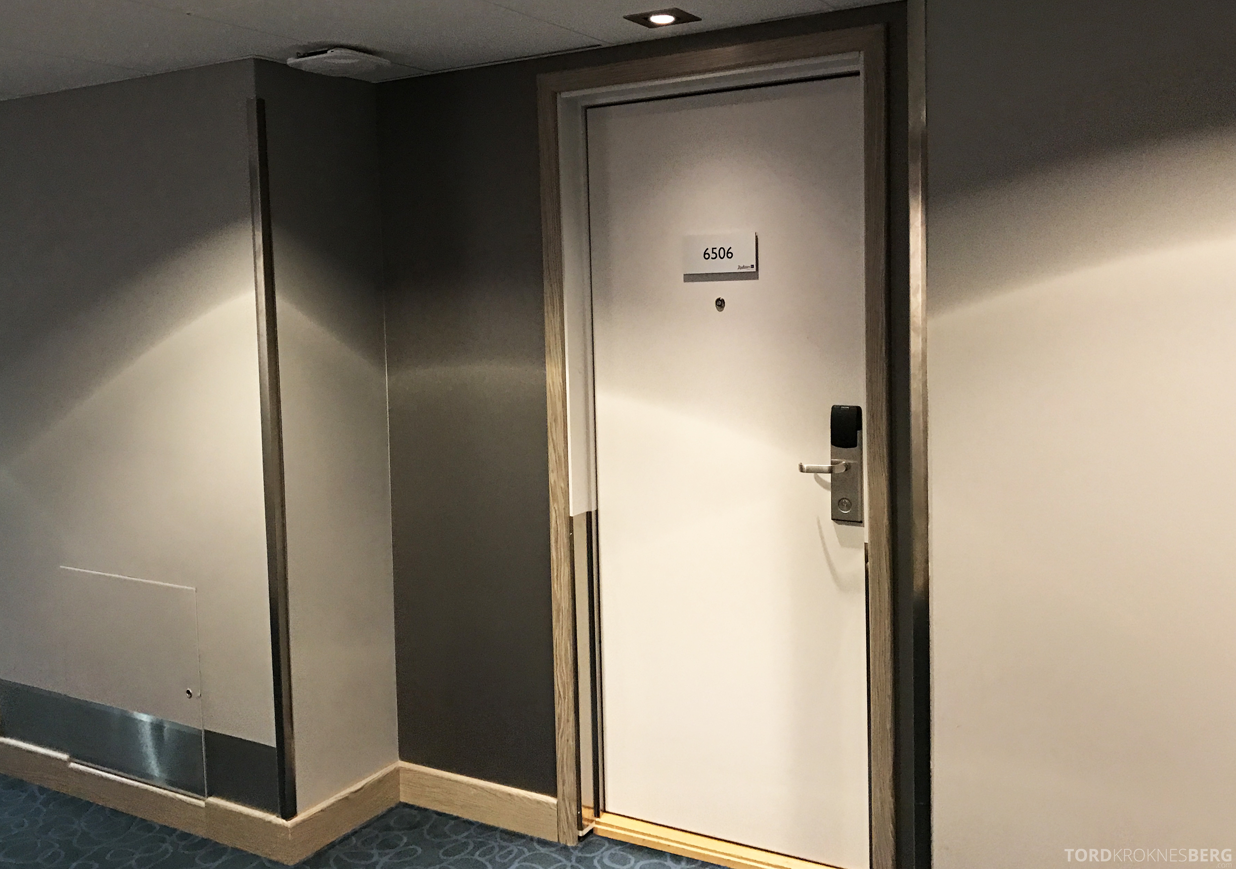 Radisson Blu Oslo Airport Hotel Suite dør