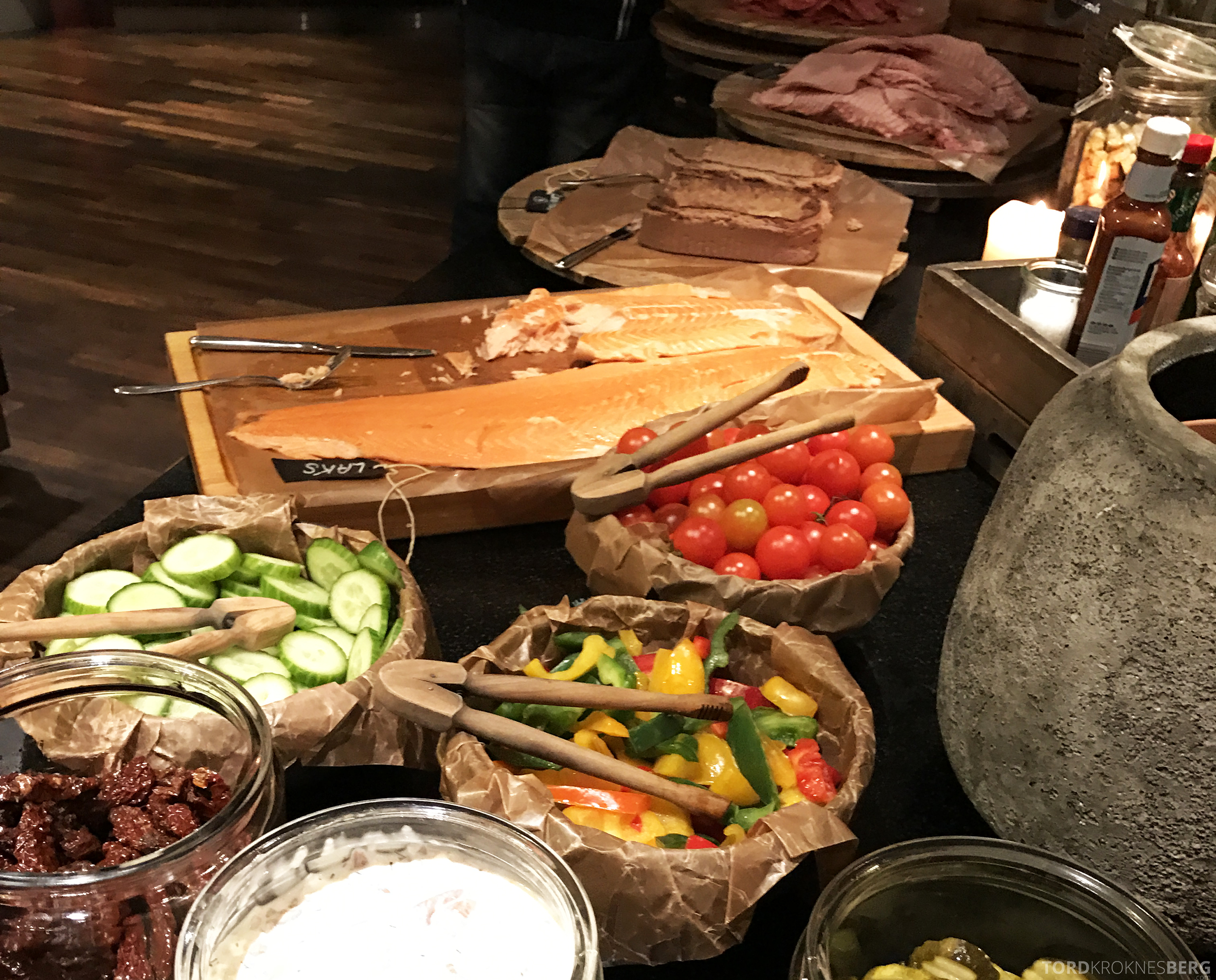 Radisson Blu Oslo Airport Hotel suite frokostbuffet