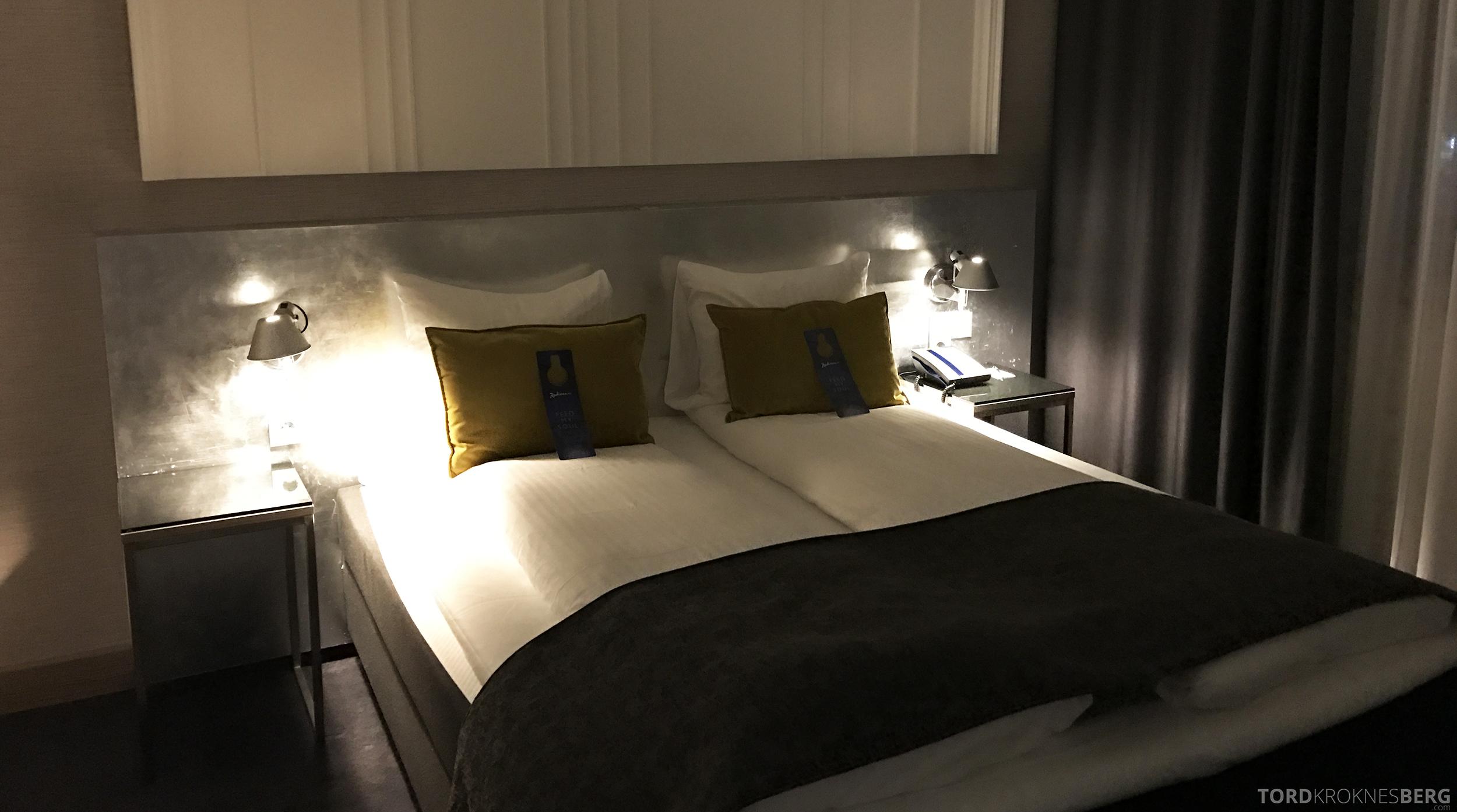 Radisson Blu Oslo Airport Hotel Suite seng
