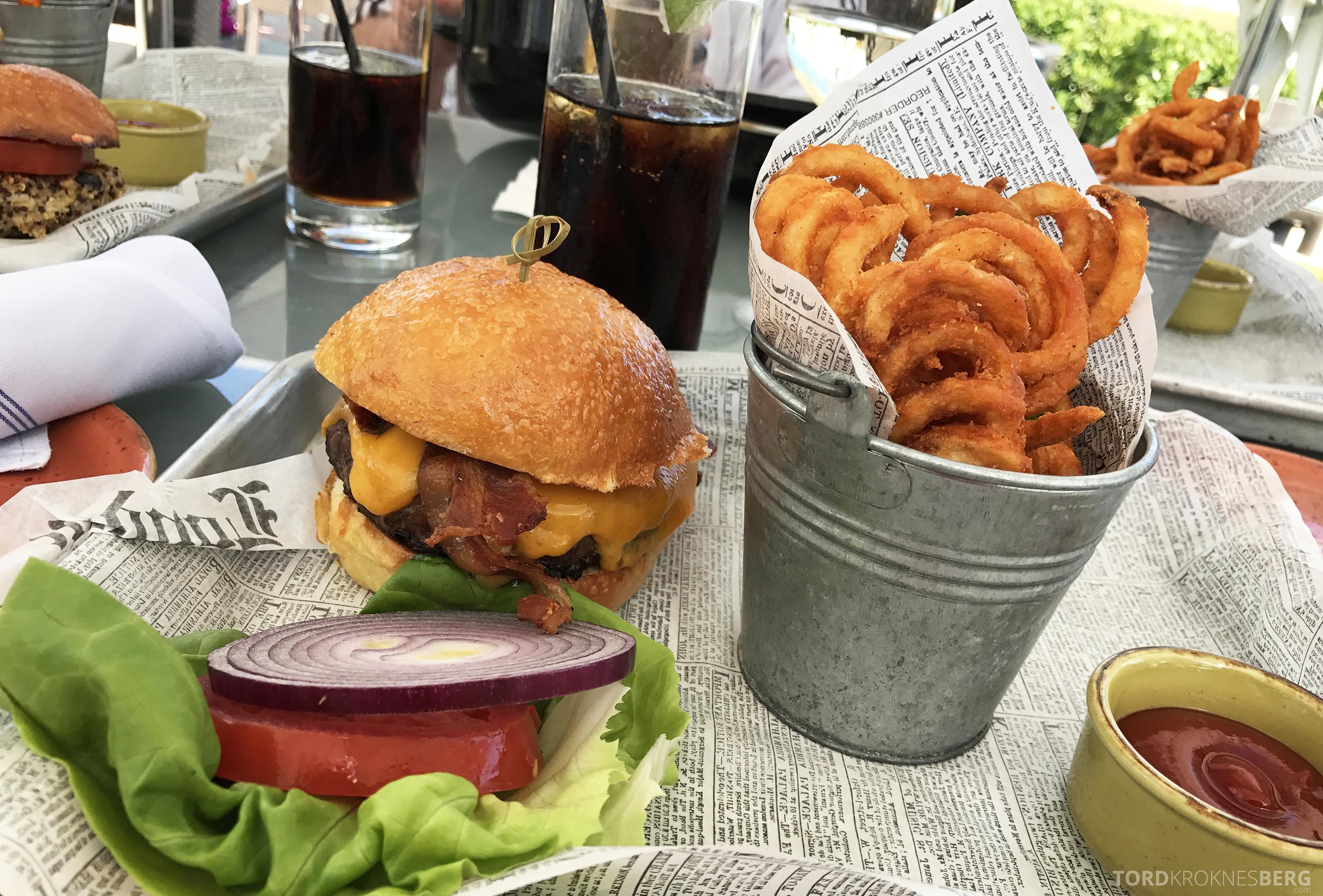 The Ritz Carlton South Beach Miami Dilido Beach Club burger