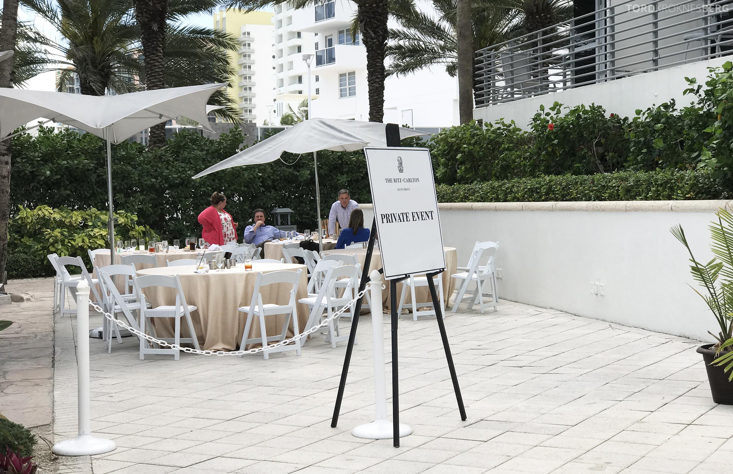 The Ritz Carlton South Beach Miami Dilido Beach Club privat event
