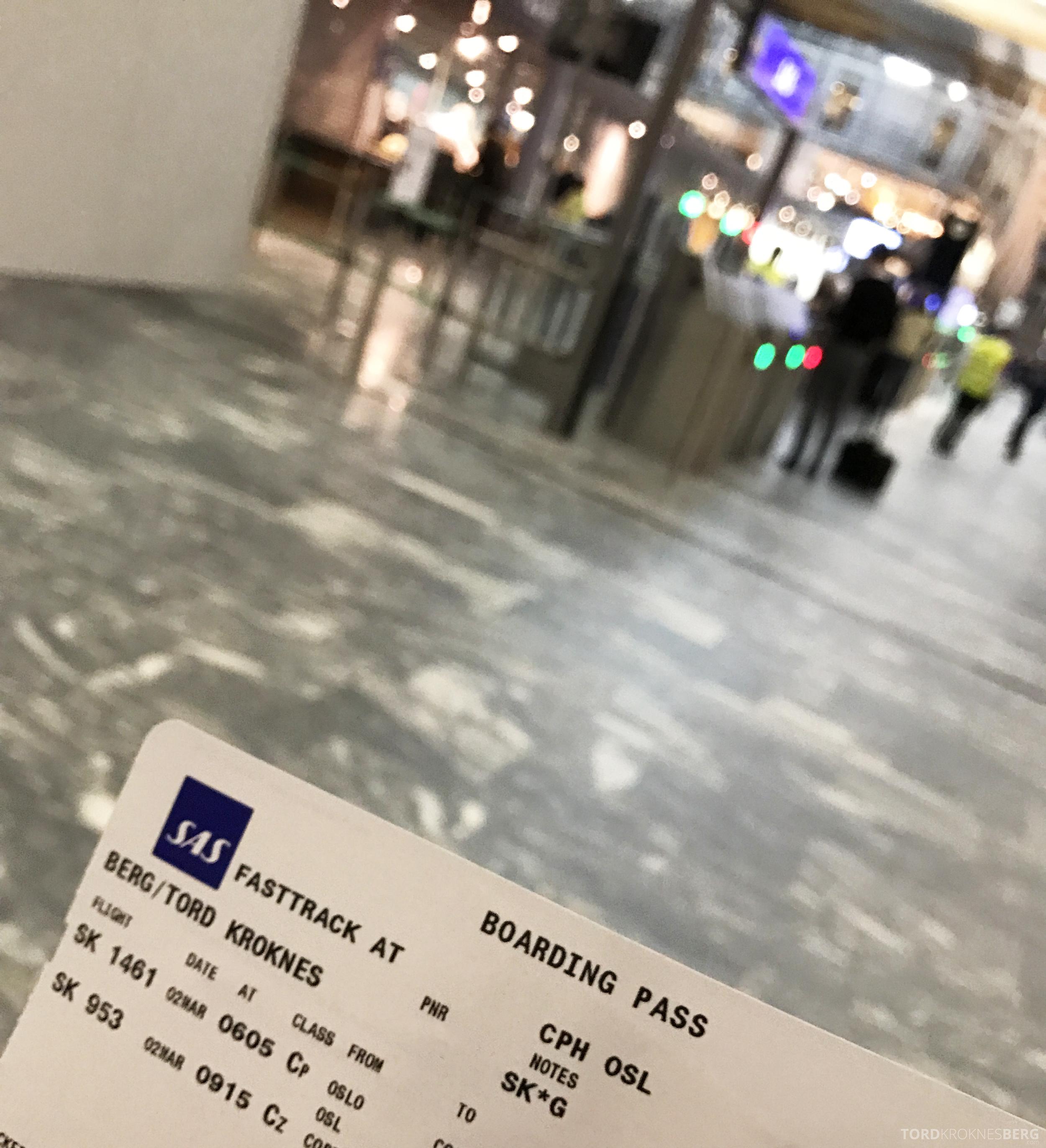 SAS Business Oslo til Miami fast track