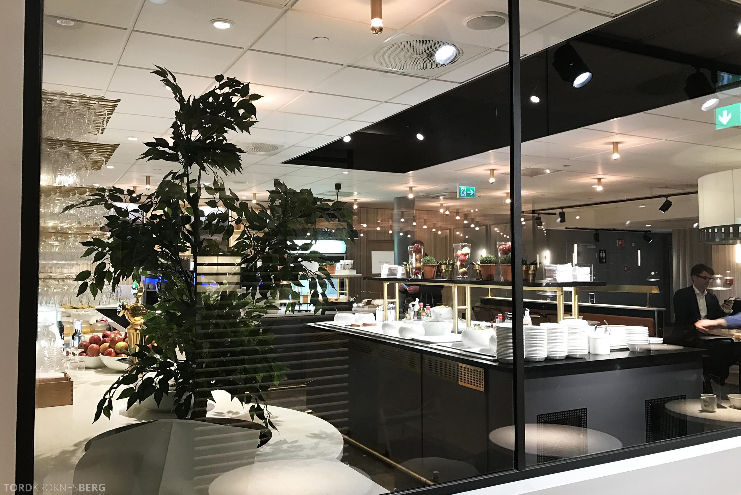SAS Business Oslo til Miami gullounge
