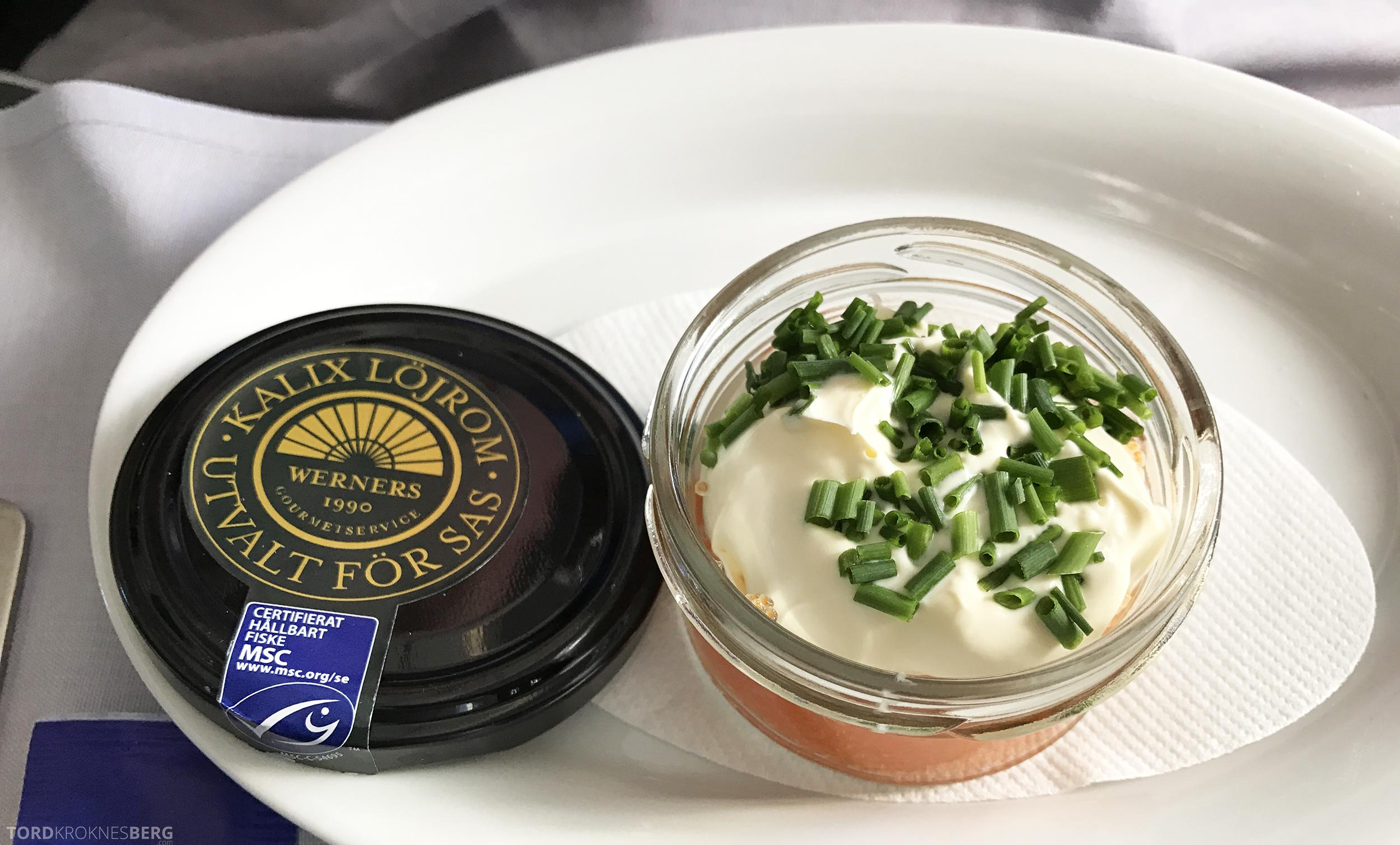 SAS Business Oslo til Miami kaviar