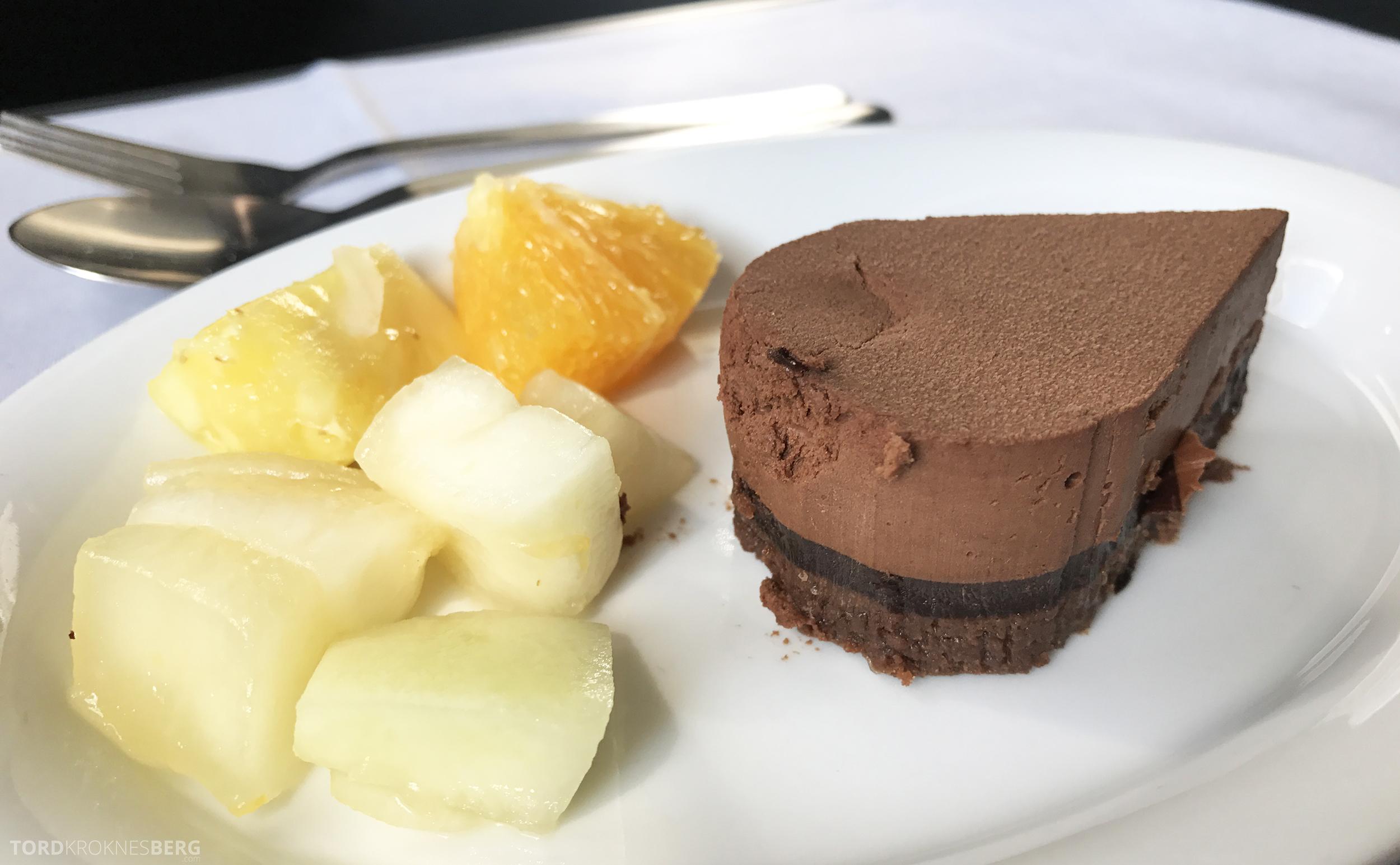 SAS Business Oslo til Miami dessert