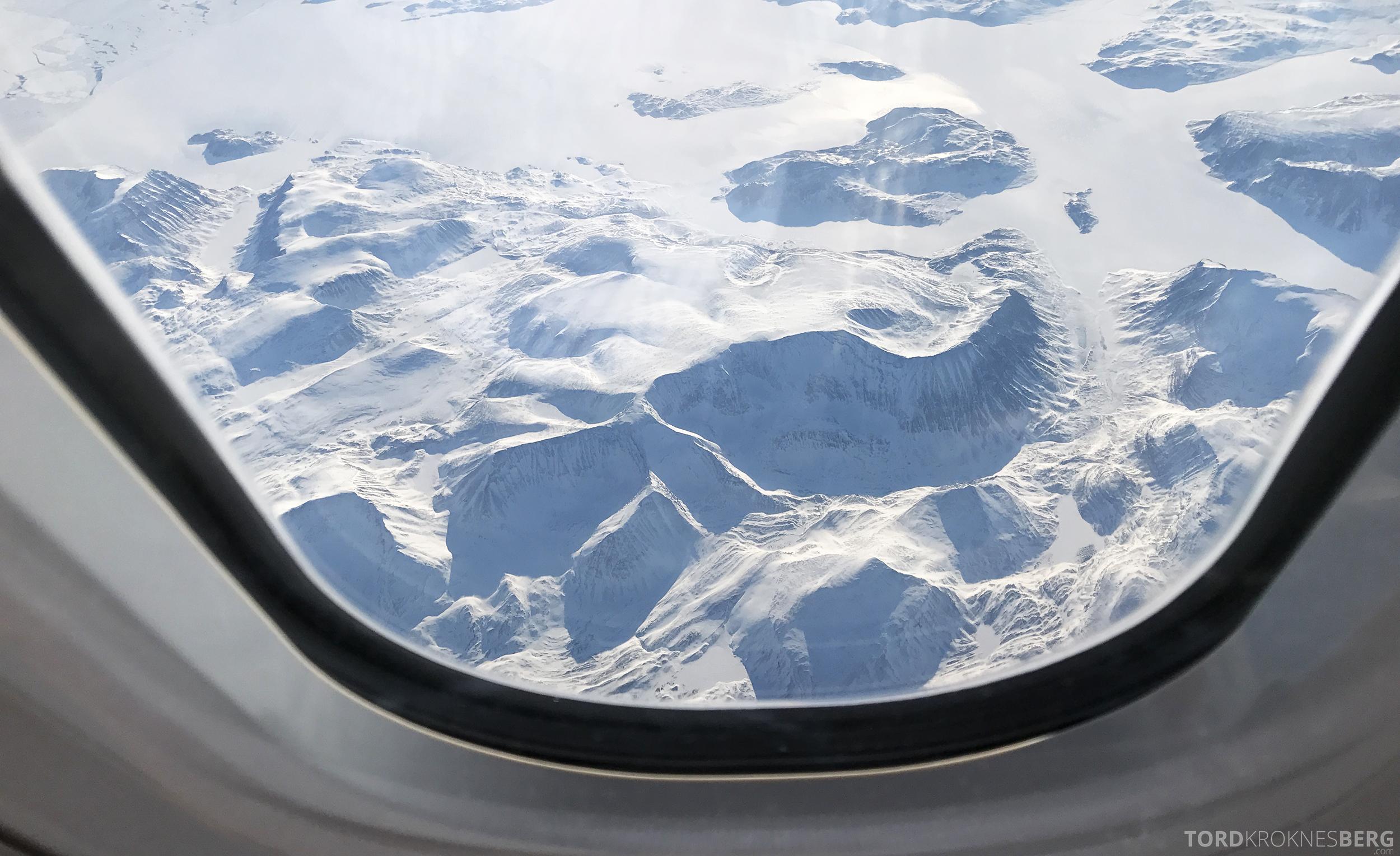 SAS Business Oslo til Miami utsikt Grønland