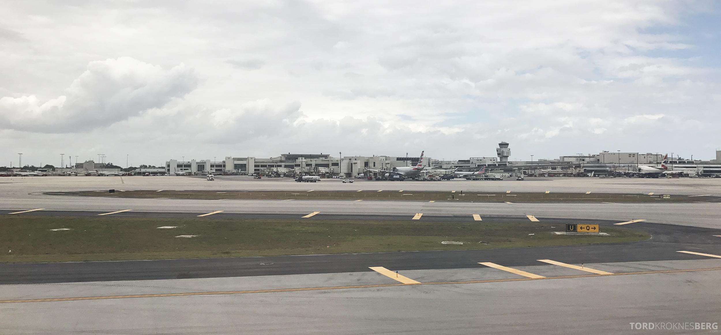 SAS Business Oslo til Miami landet