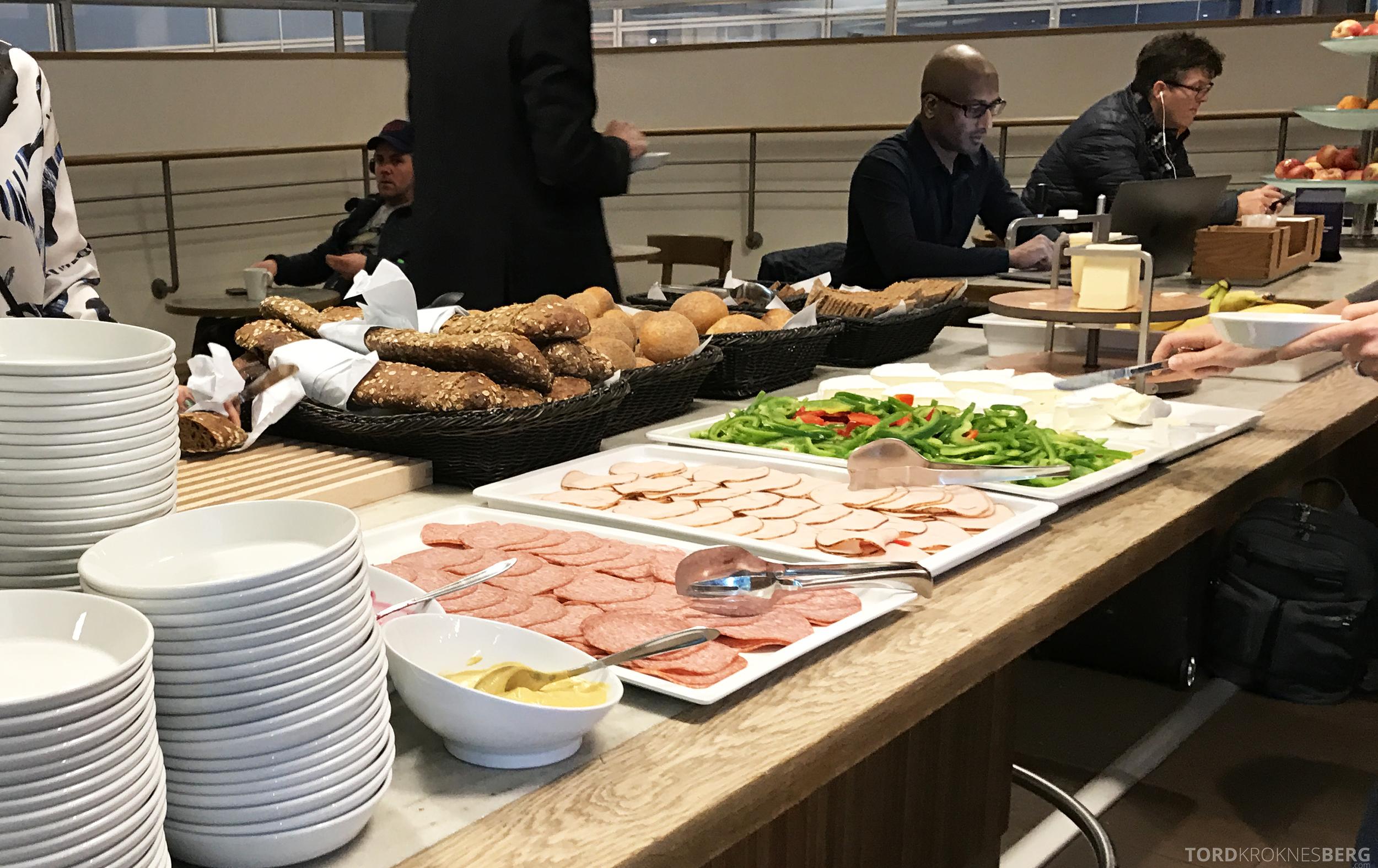 SAS Business Oslo til Miami frokost København