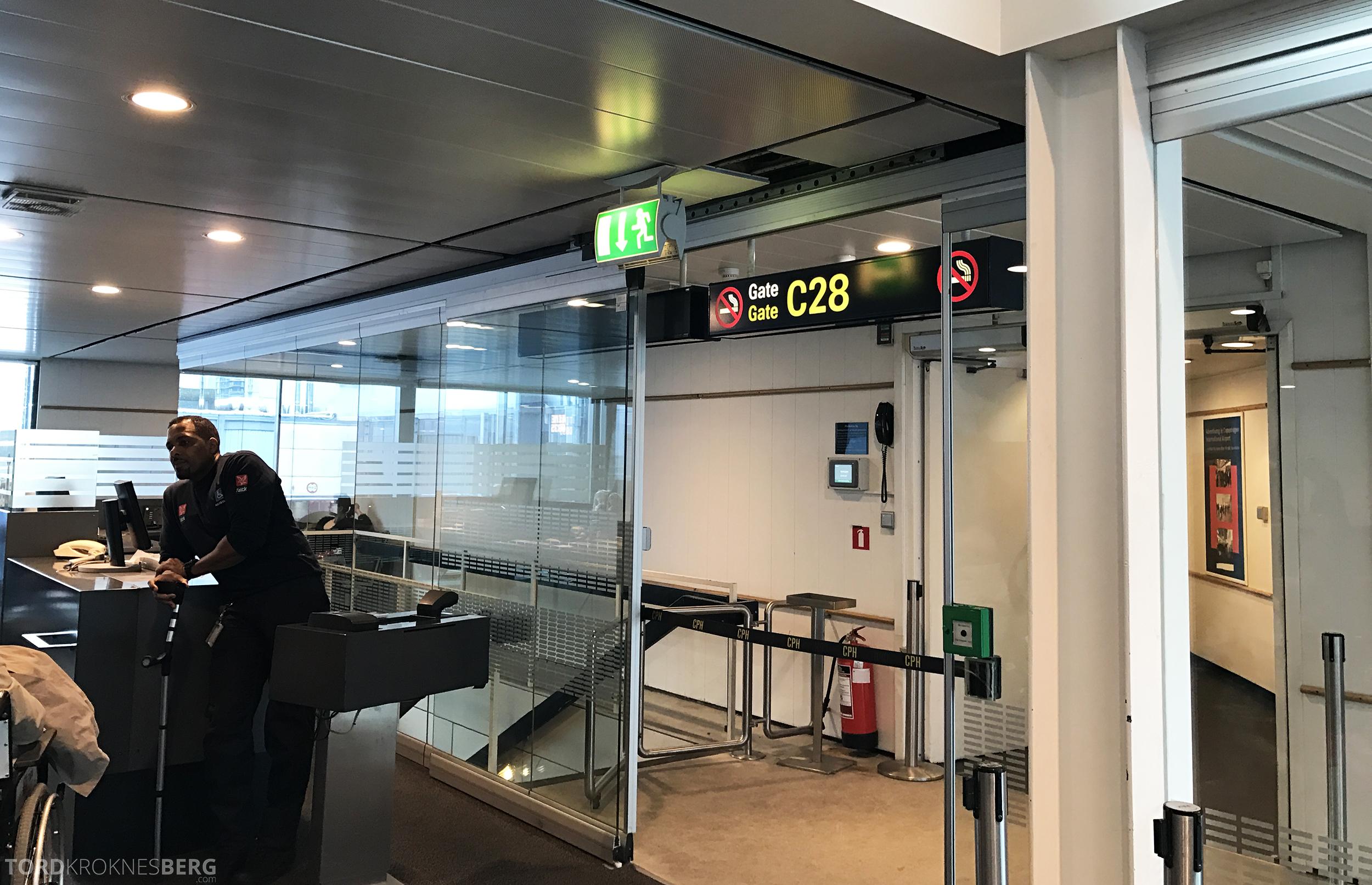 SAS Business Oslo til Miami gate