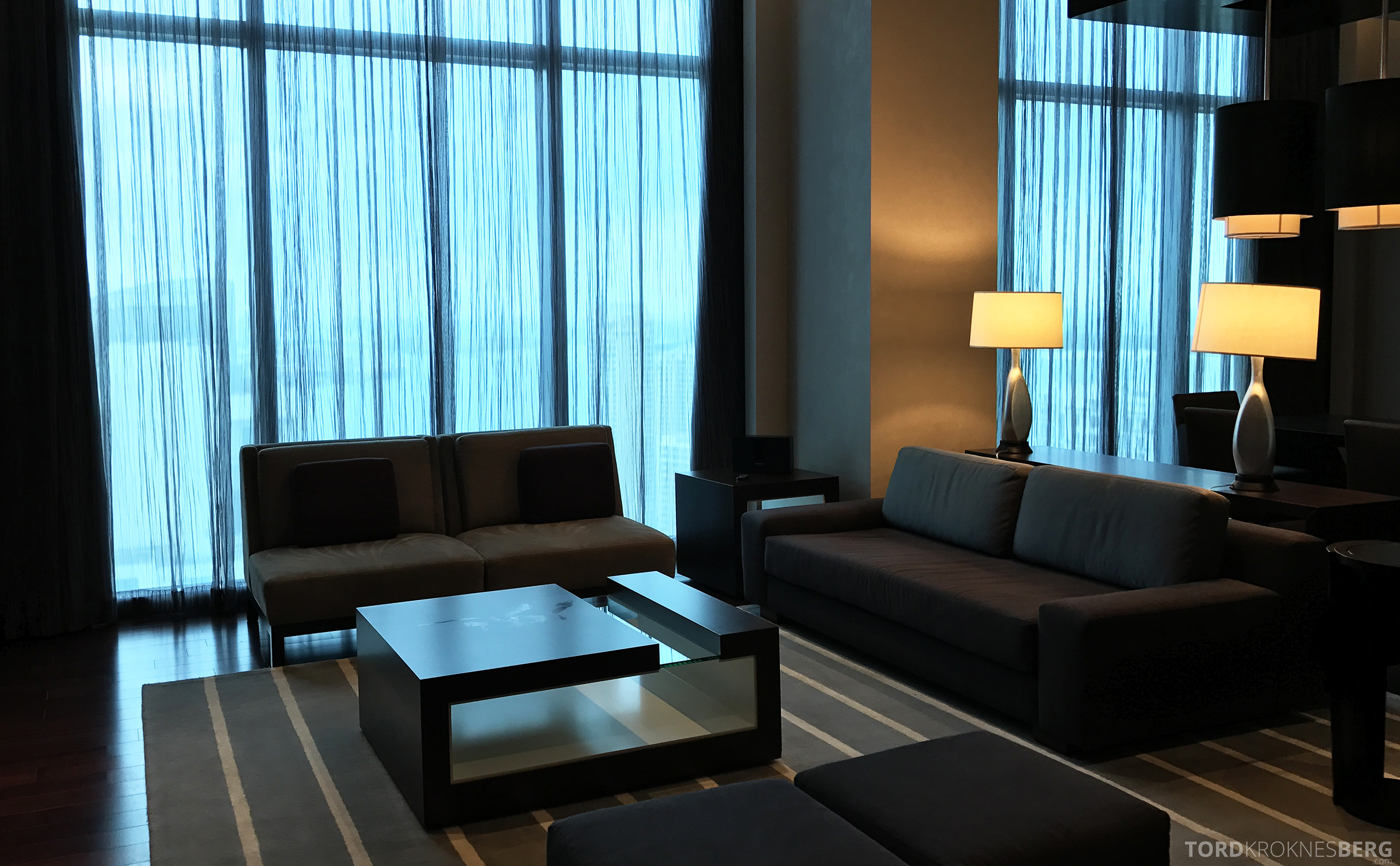 Vice Presidential Suite JW Marriott Marquis Miami stue