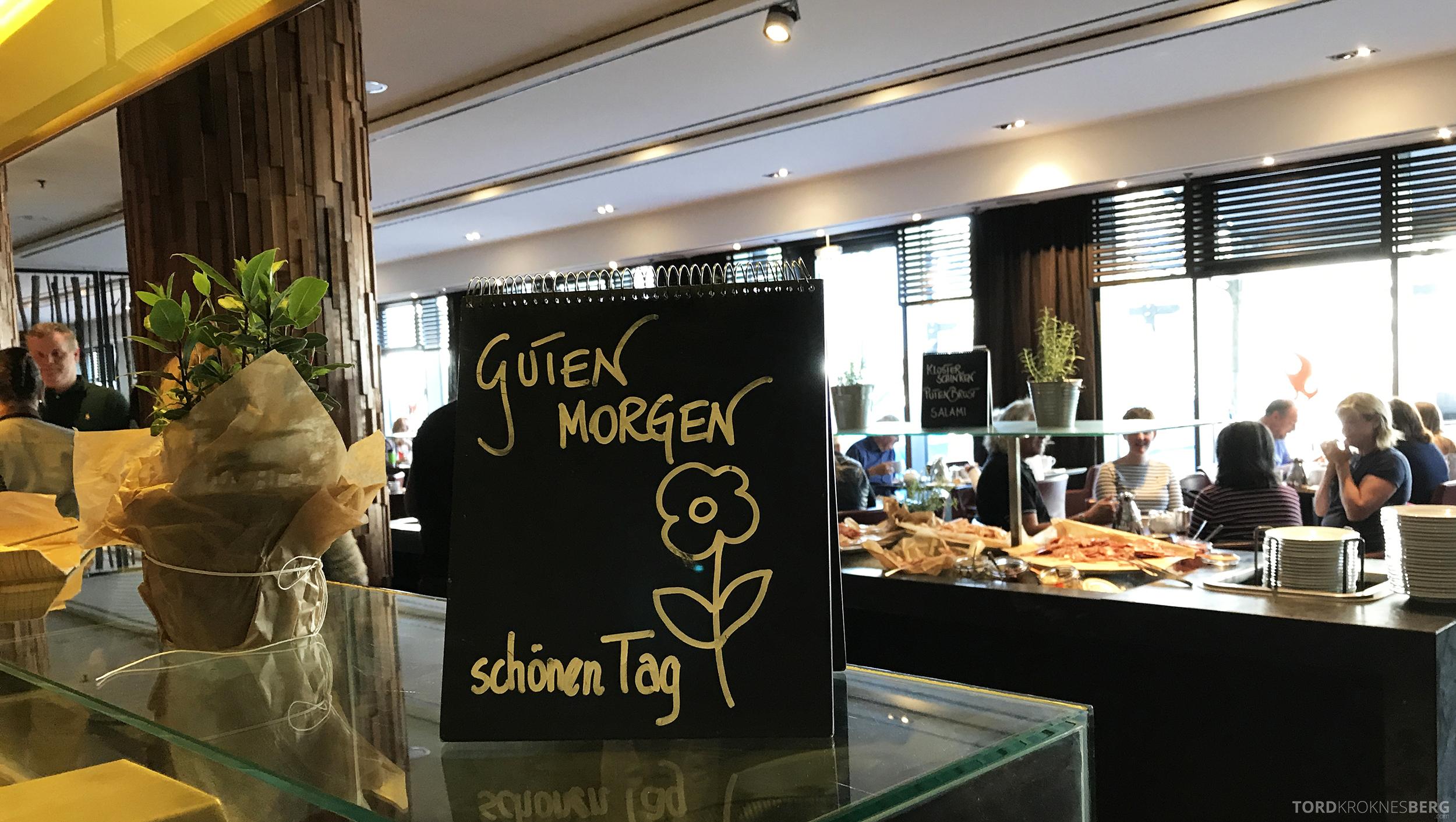 Radisson Blu Berlin velkomst frokost