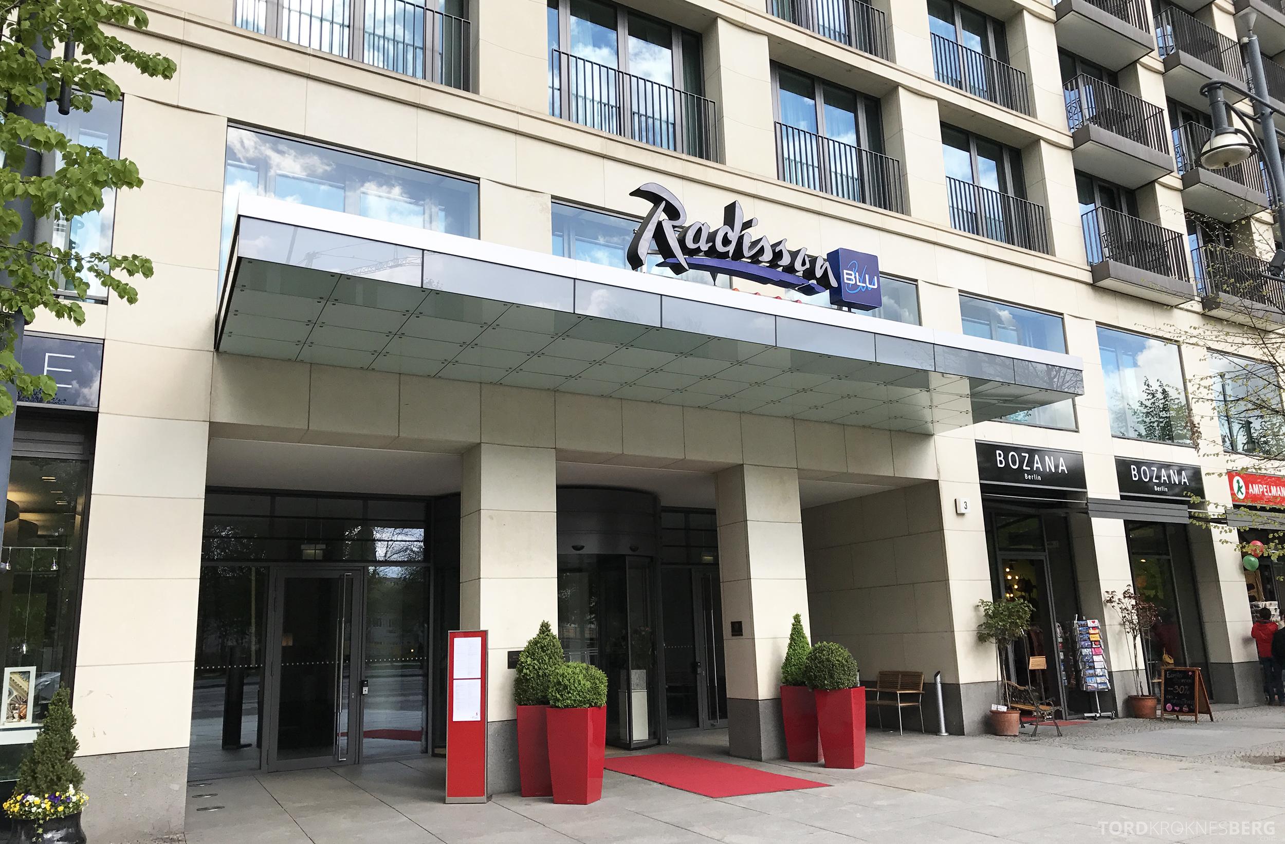 Radisson Blu Berlin inngang