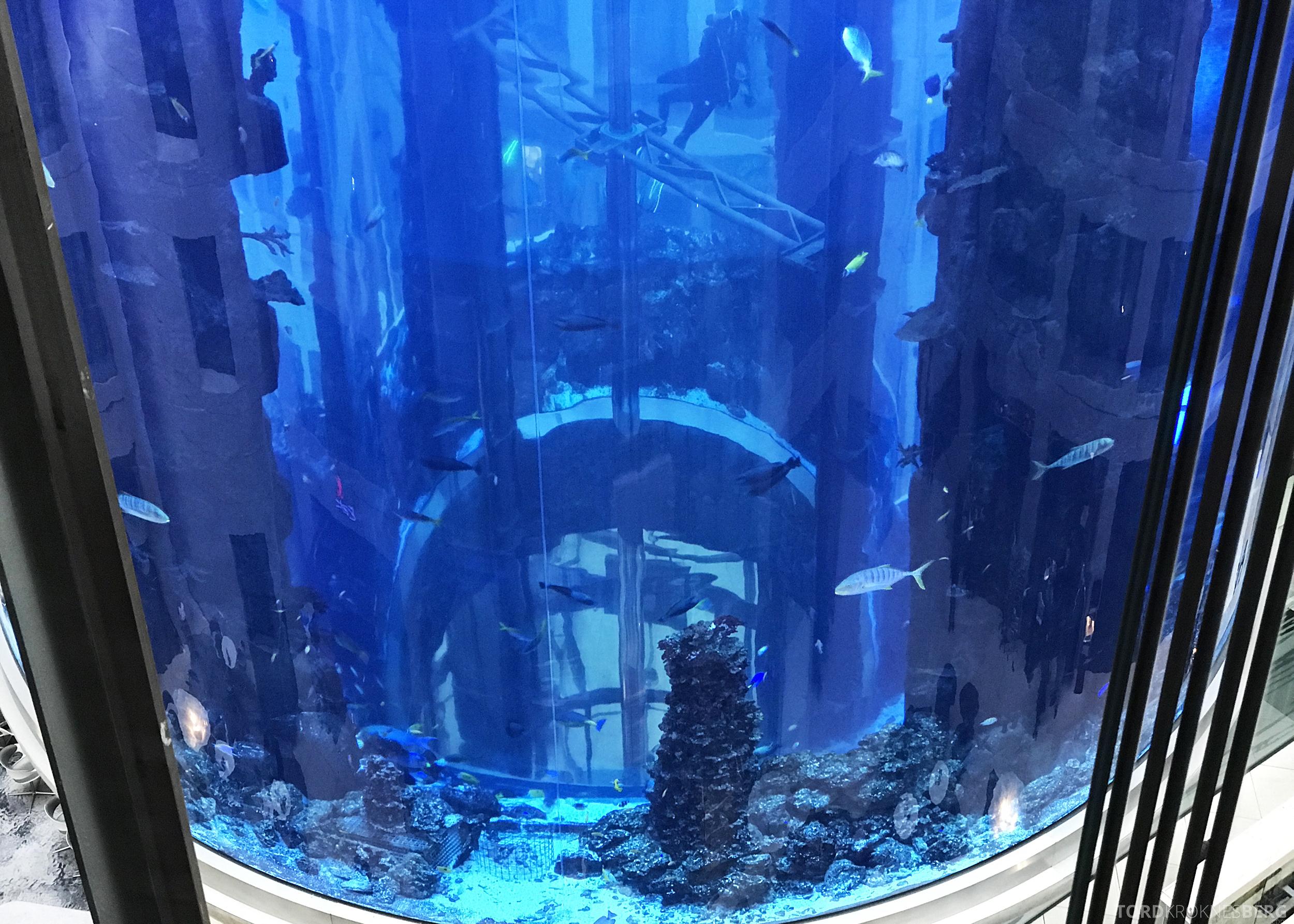 Radisson Blu Berlin akvarium