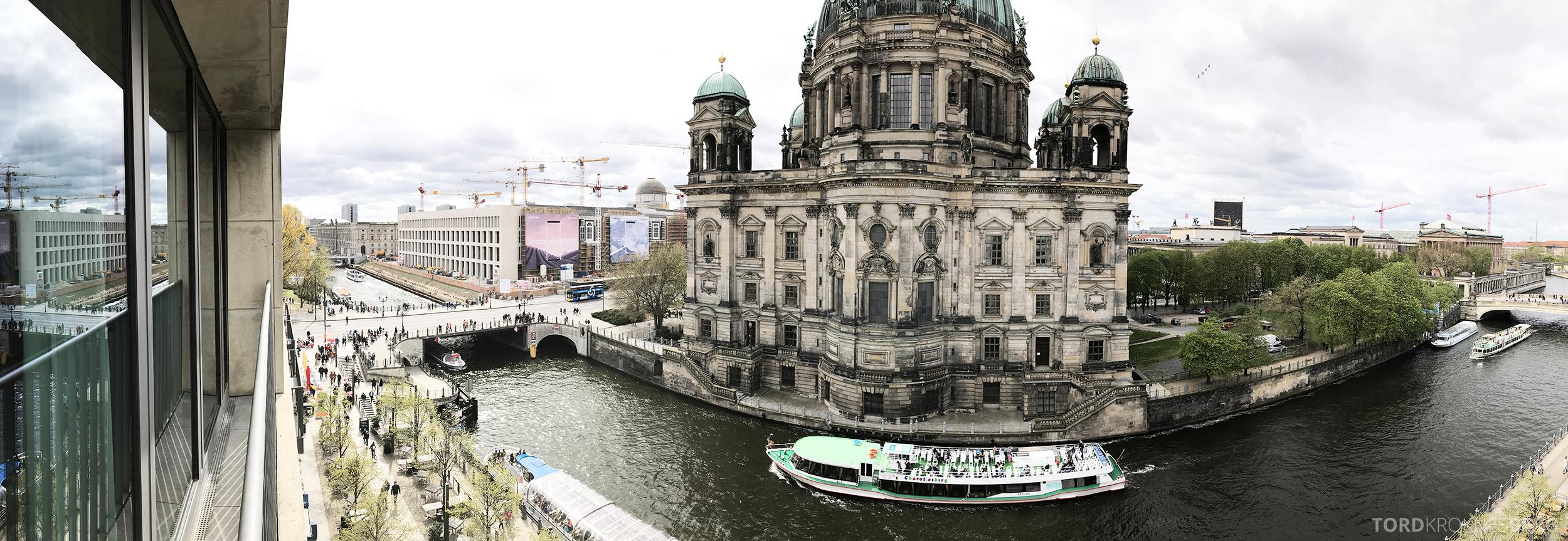 Radisson Blu Berlin panorama utsikt