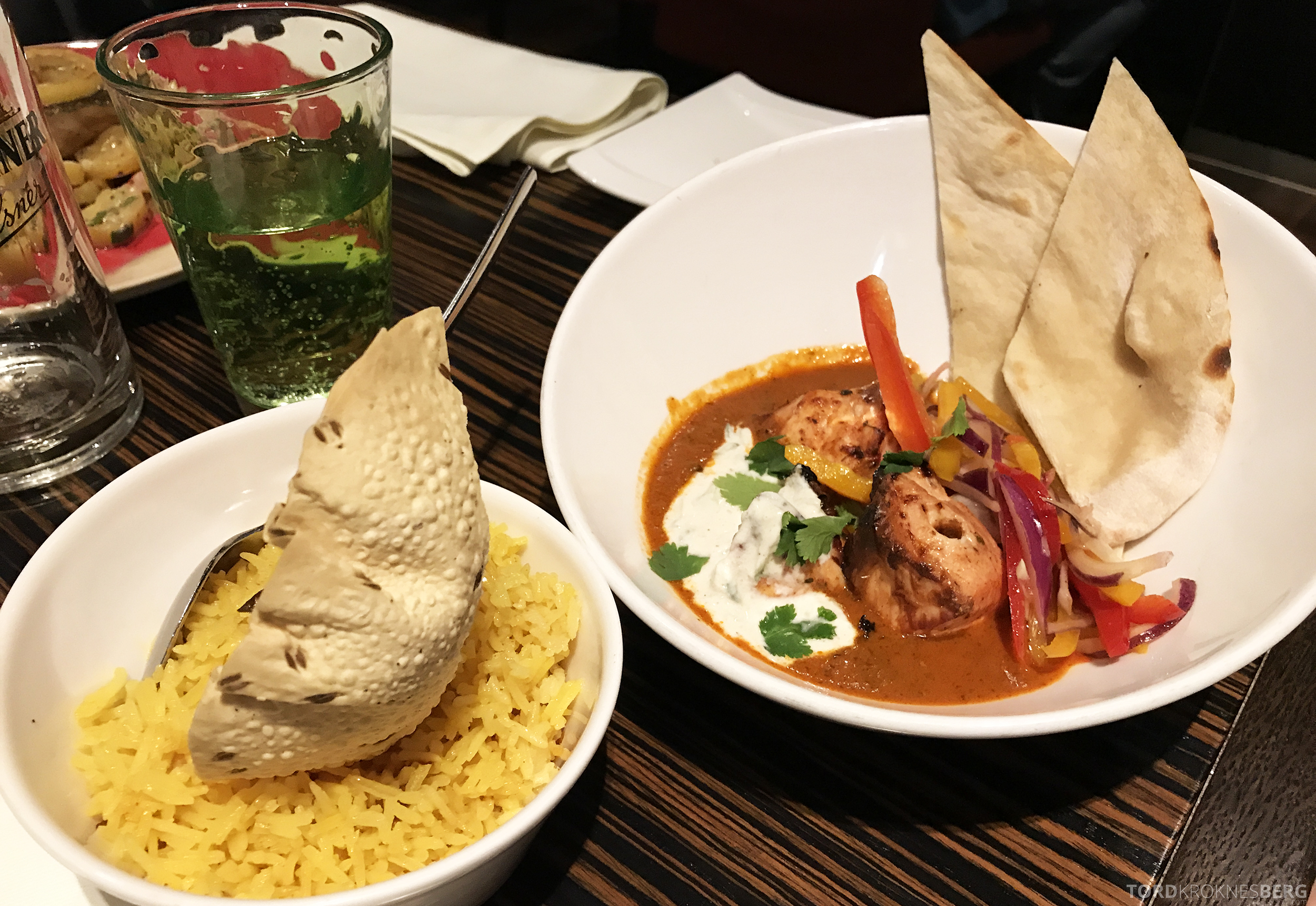 Restaurant Heat Radisson Blu Berlin tandoori chicken