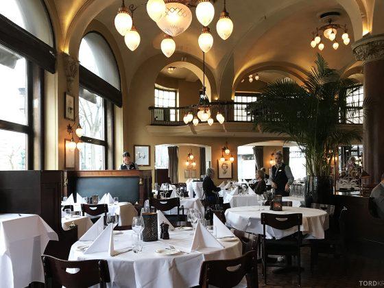 Restaurant Theatercafeen Oslo interiør