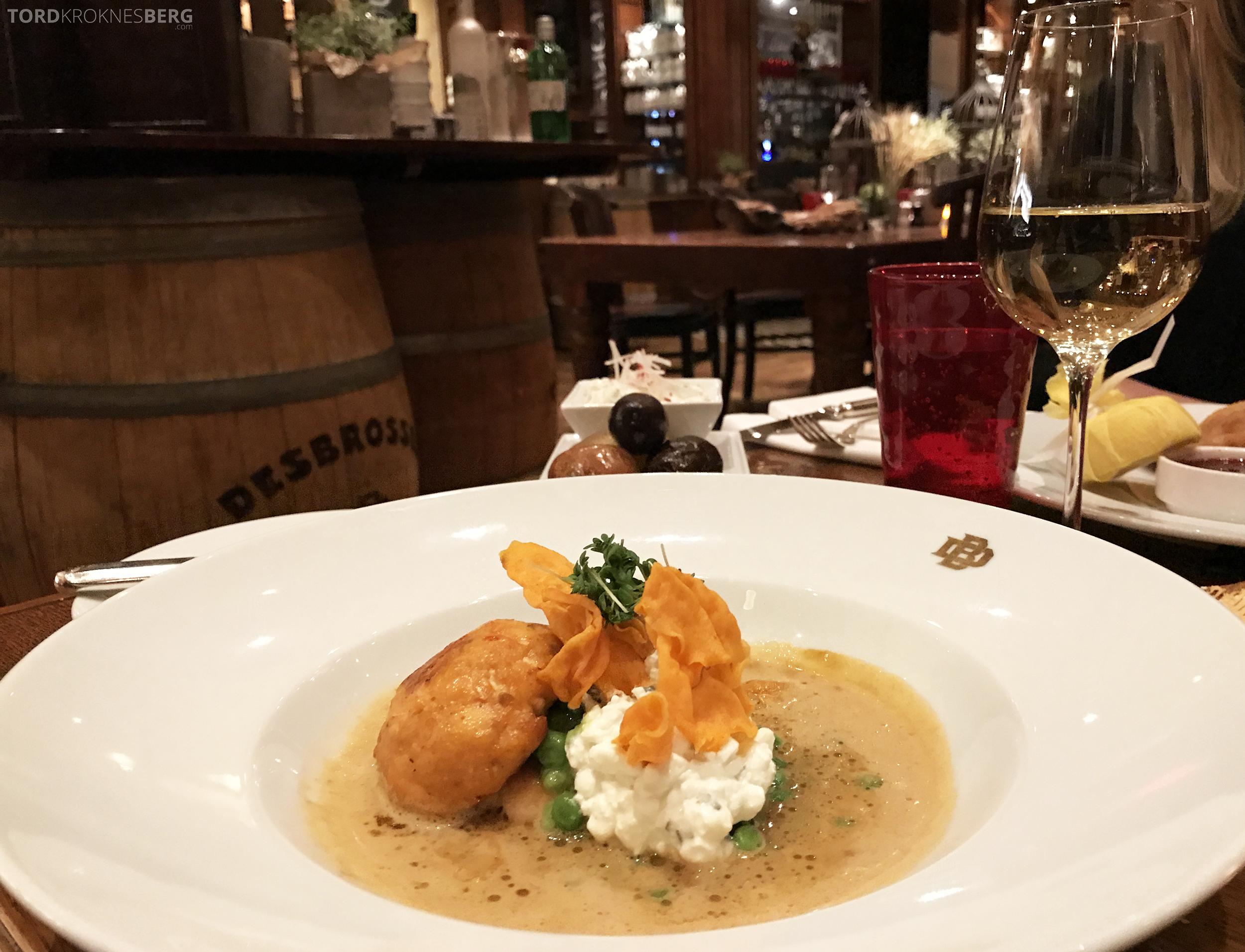 Brasserie Desbrosses Ritz-Carlton Berlin laks