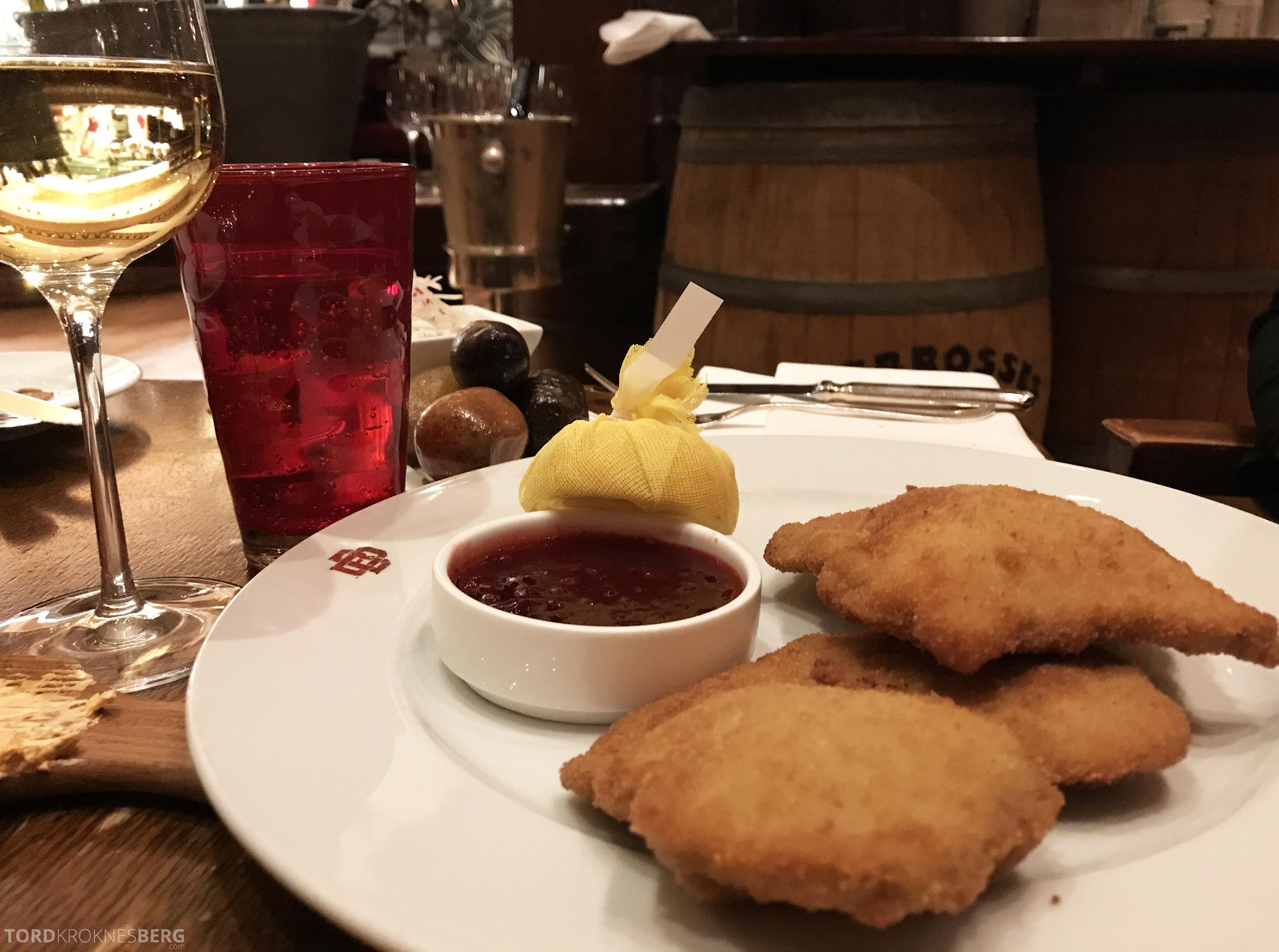 Brasserie Desbrosses Ritz-Carlton Berlin wienerschnitzel