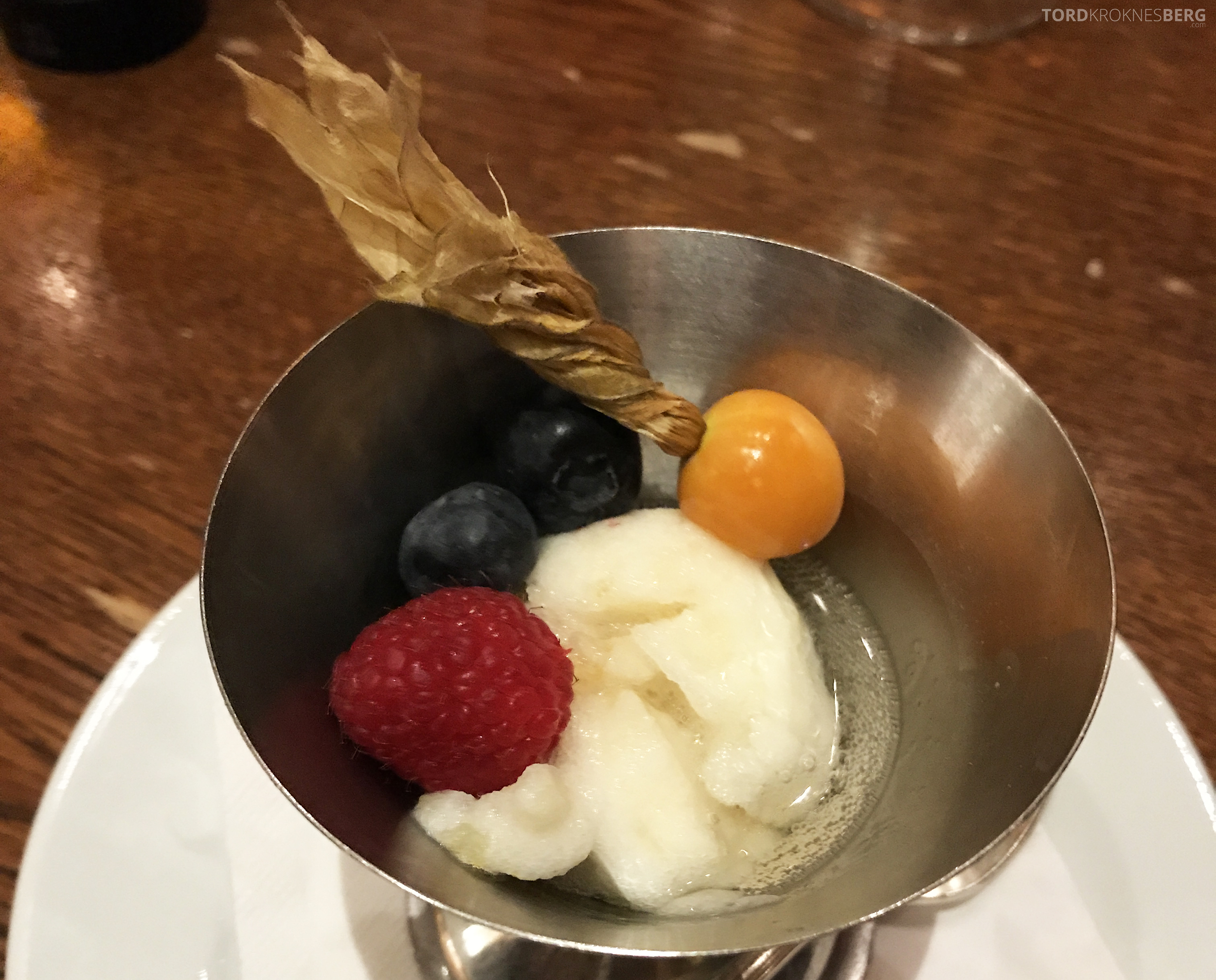 Brasserie Desbrosses Ritz-Carlton Berlin sorbet