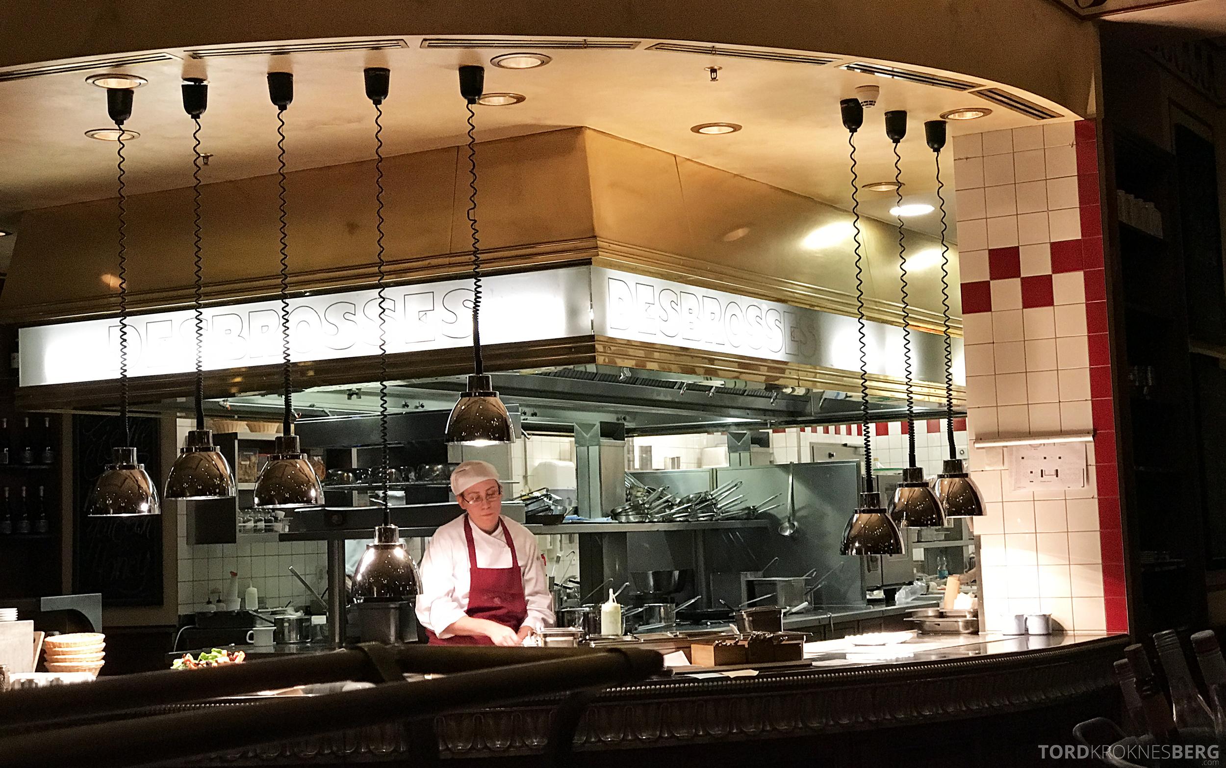 Brasserie Desbrosses Ritz-Carlton Berlin kjøkken