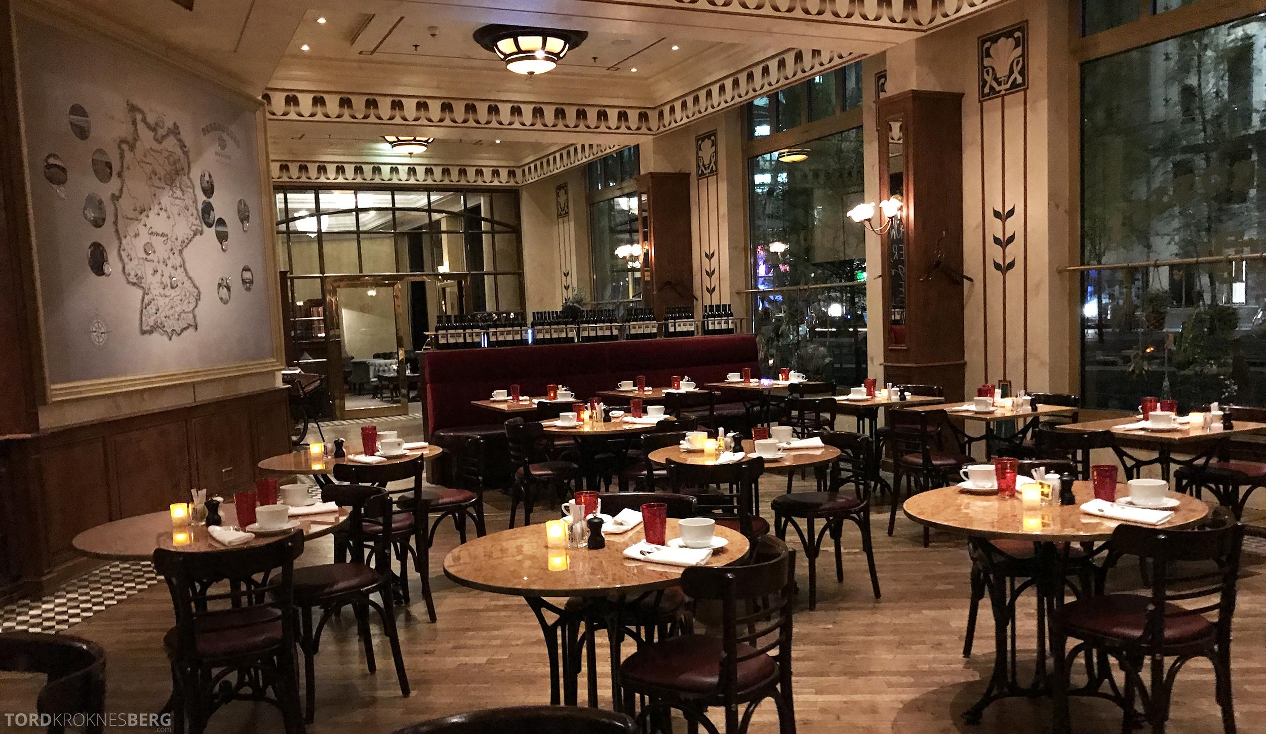 Brasserie Desbrosses Ritz-Carlton Berlin oversikt