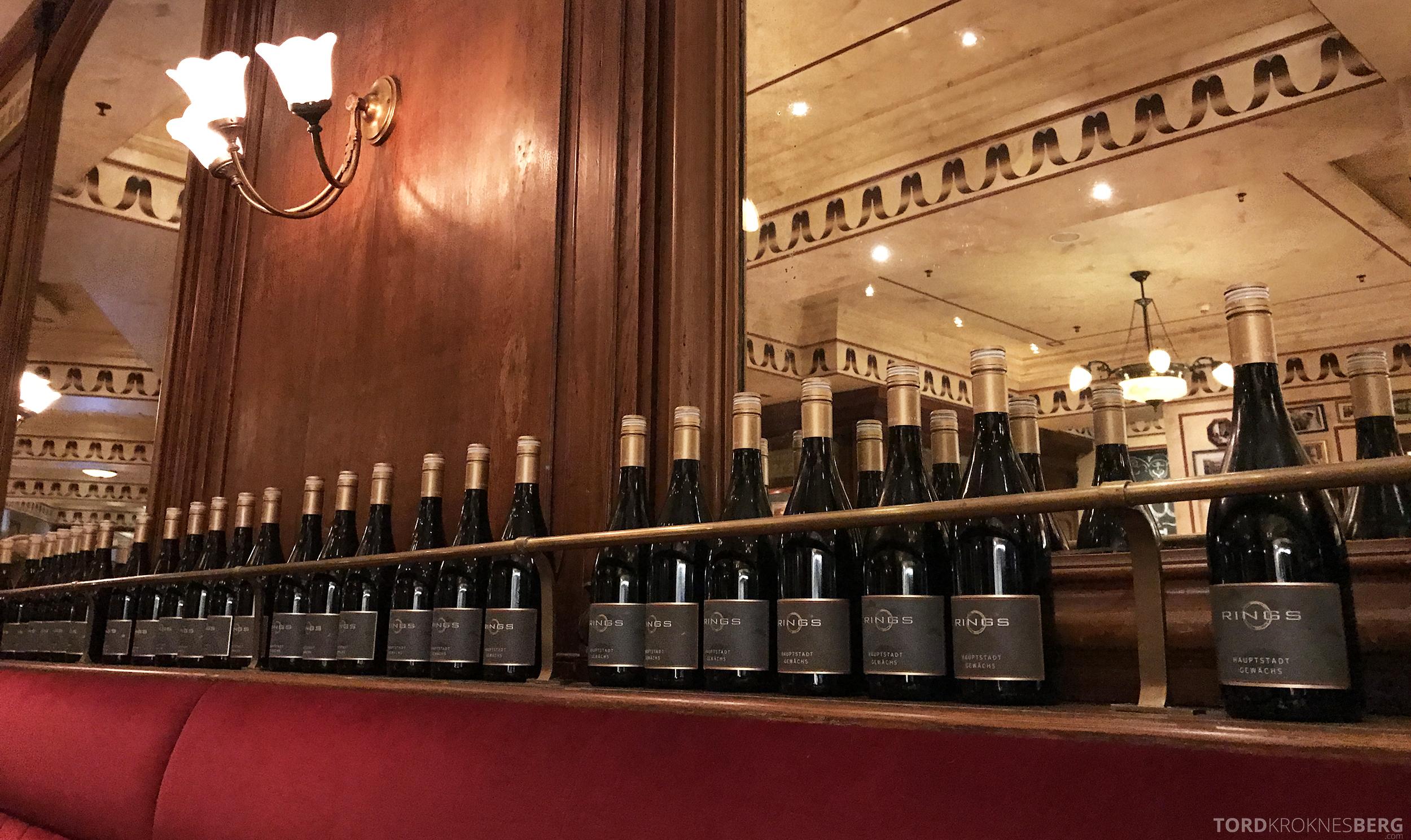 Brasserie Desbrosses Ritz-Carlton Berlin pynt