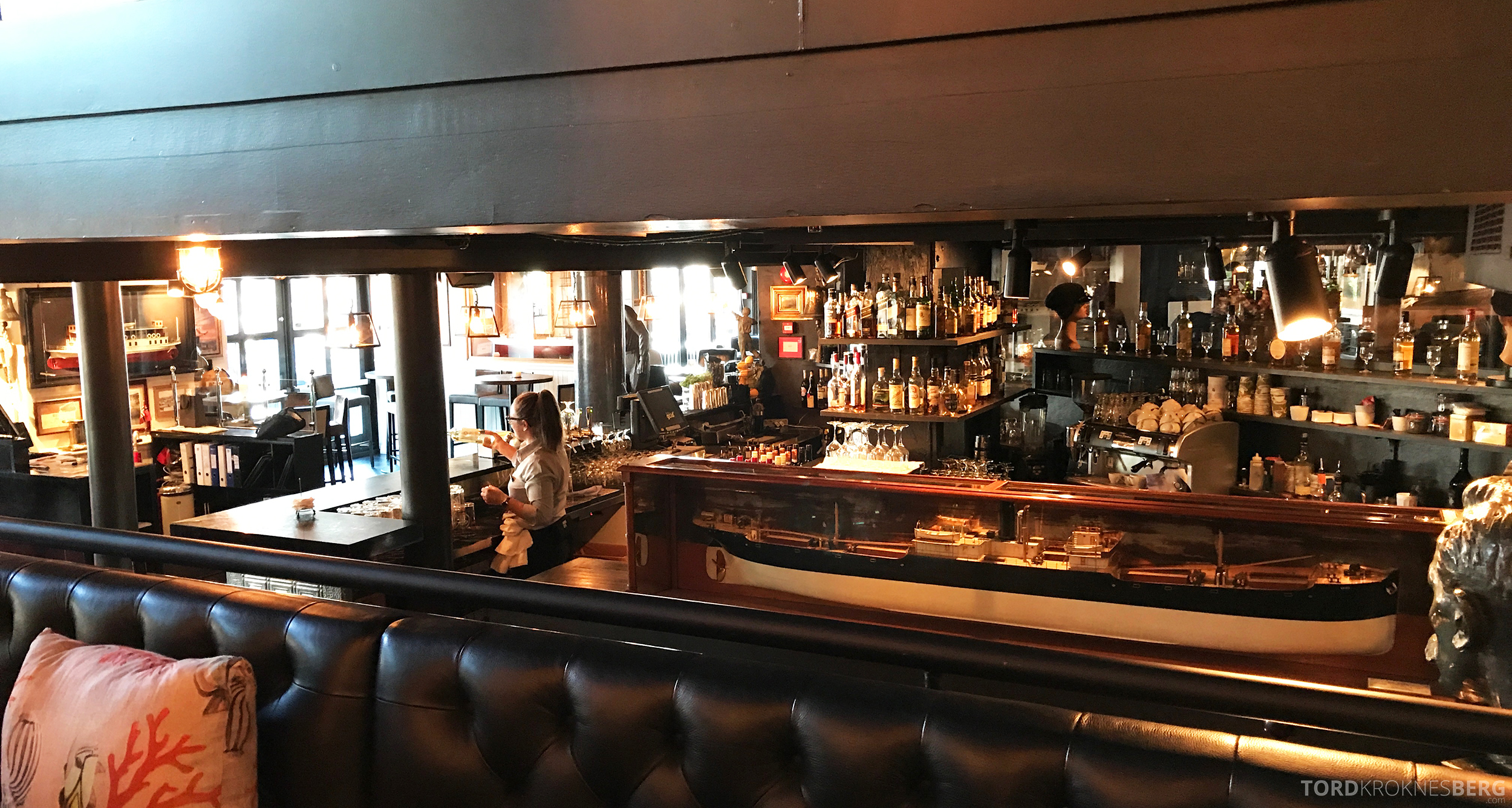 Louise Restaurant Bar Aker Brygge barområde