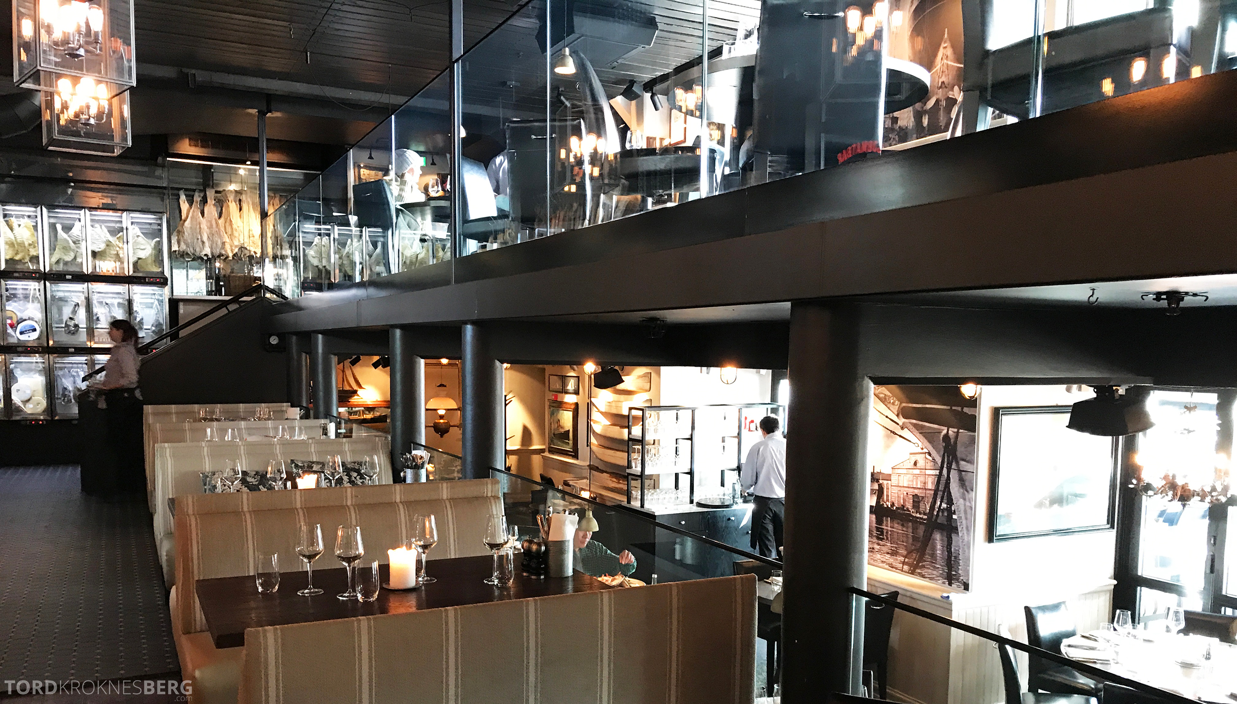 Louise Restaurant Bar Aker Brygge inne
